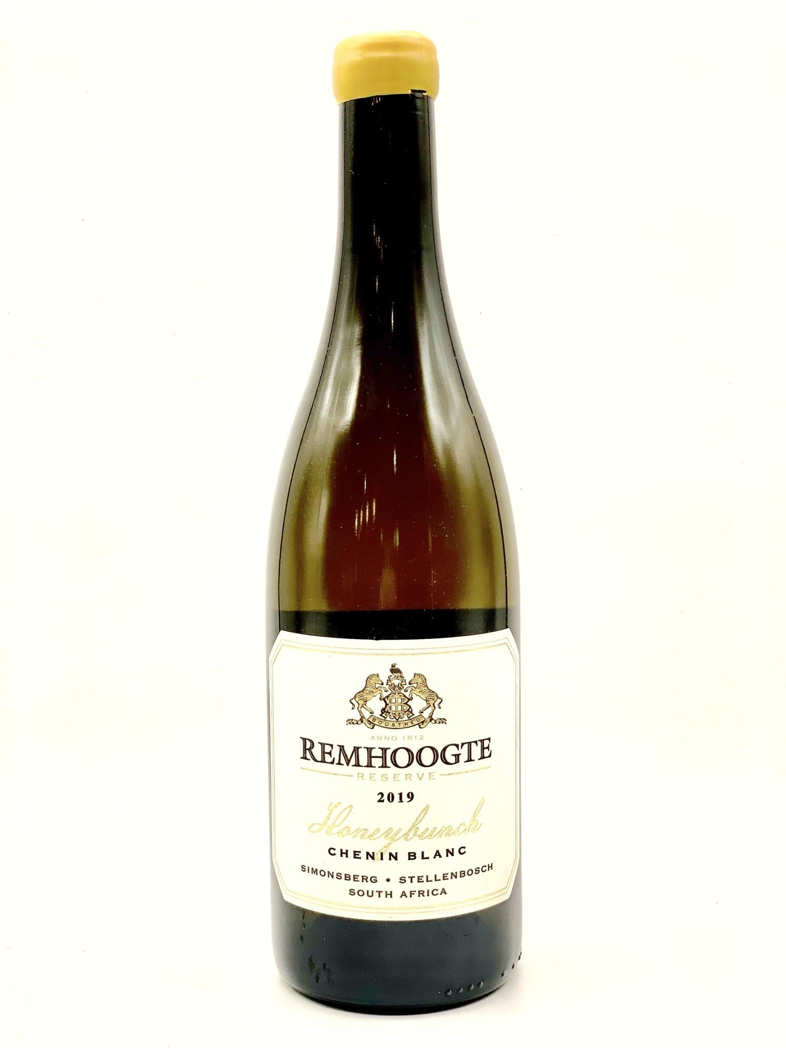 """Stellenbosch Chenin Blanc Reserve 2019 Remhoogte """"Honeybunch""""  750ml"""