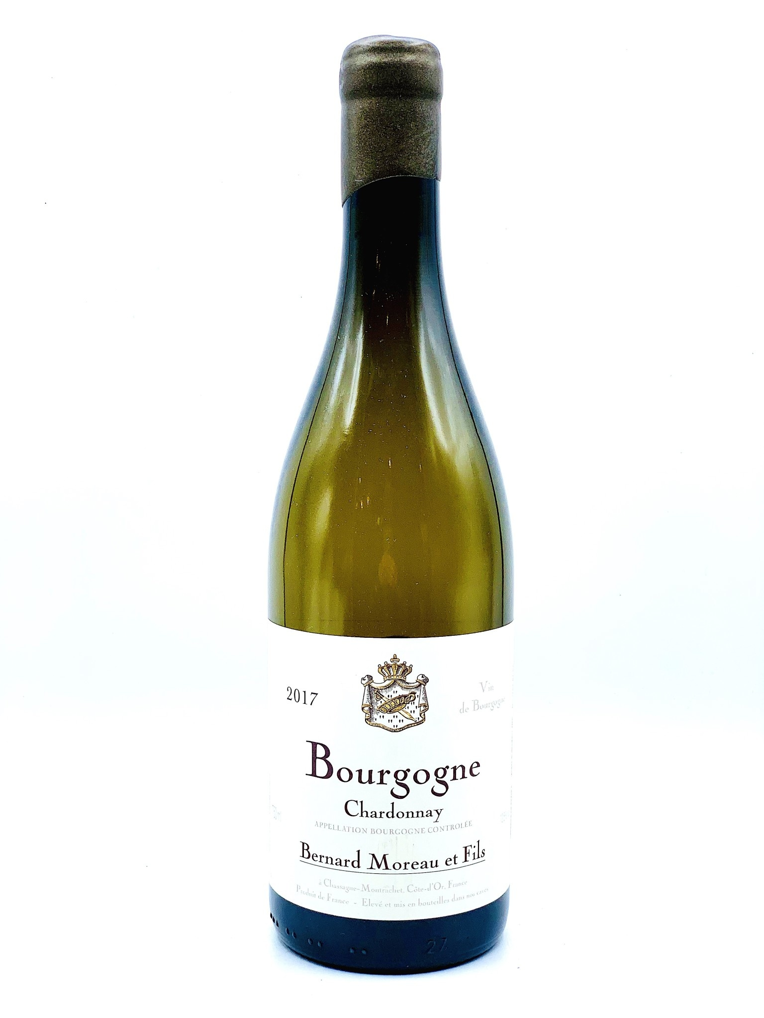Bourgogne Blanc 2017/18 Domaine Bernard Moreau  750ml