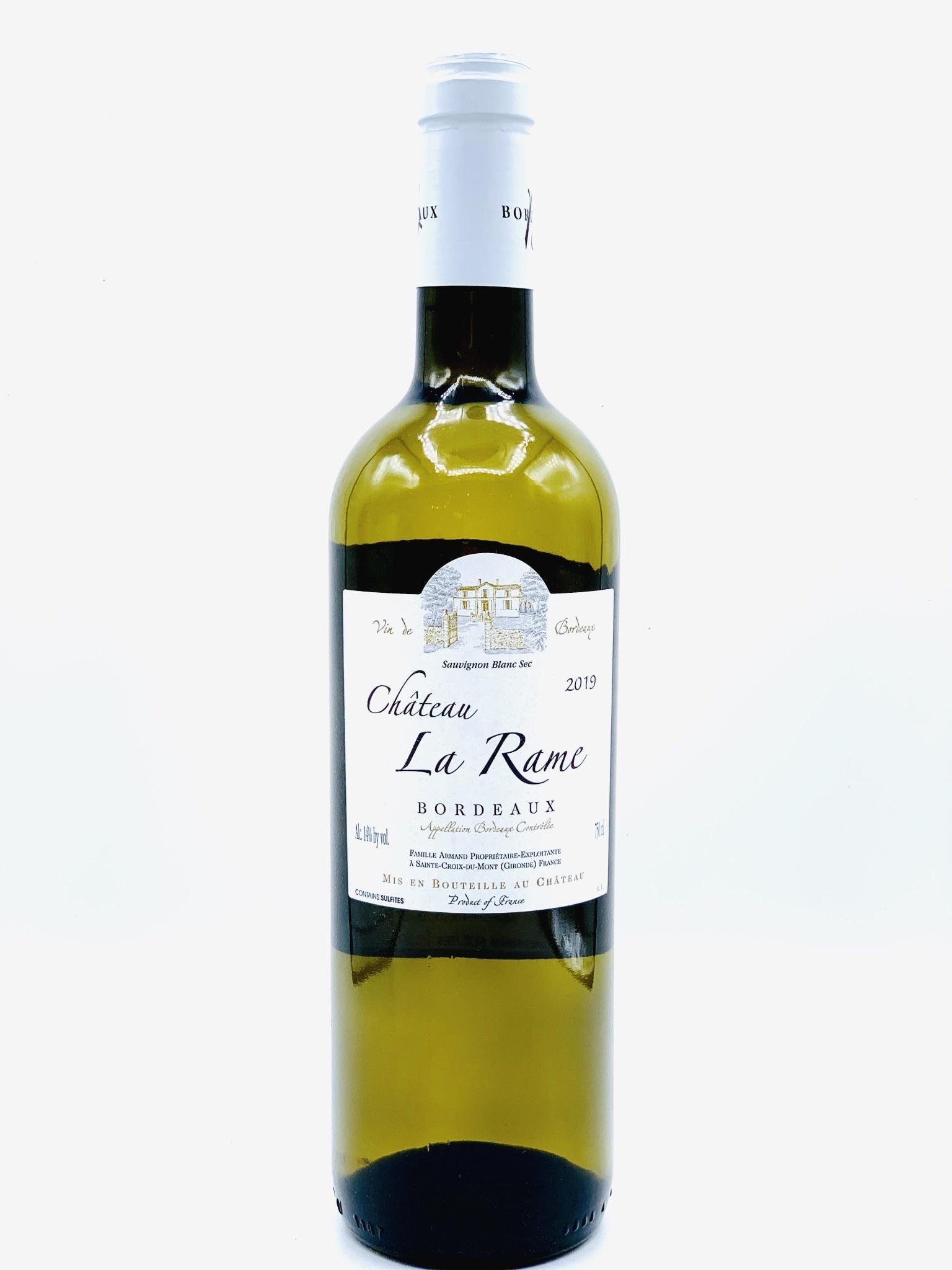 Bordeaux Blanc 2019 Chateau La Rame 750ml