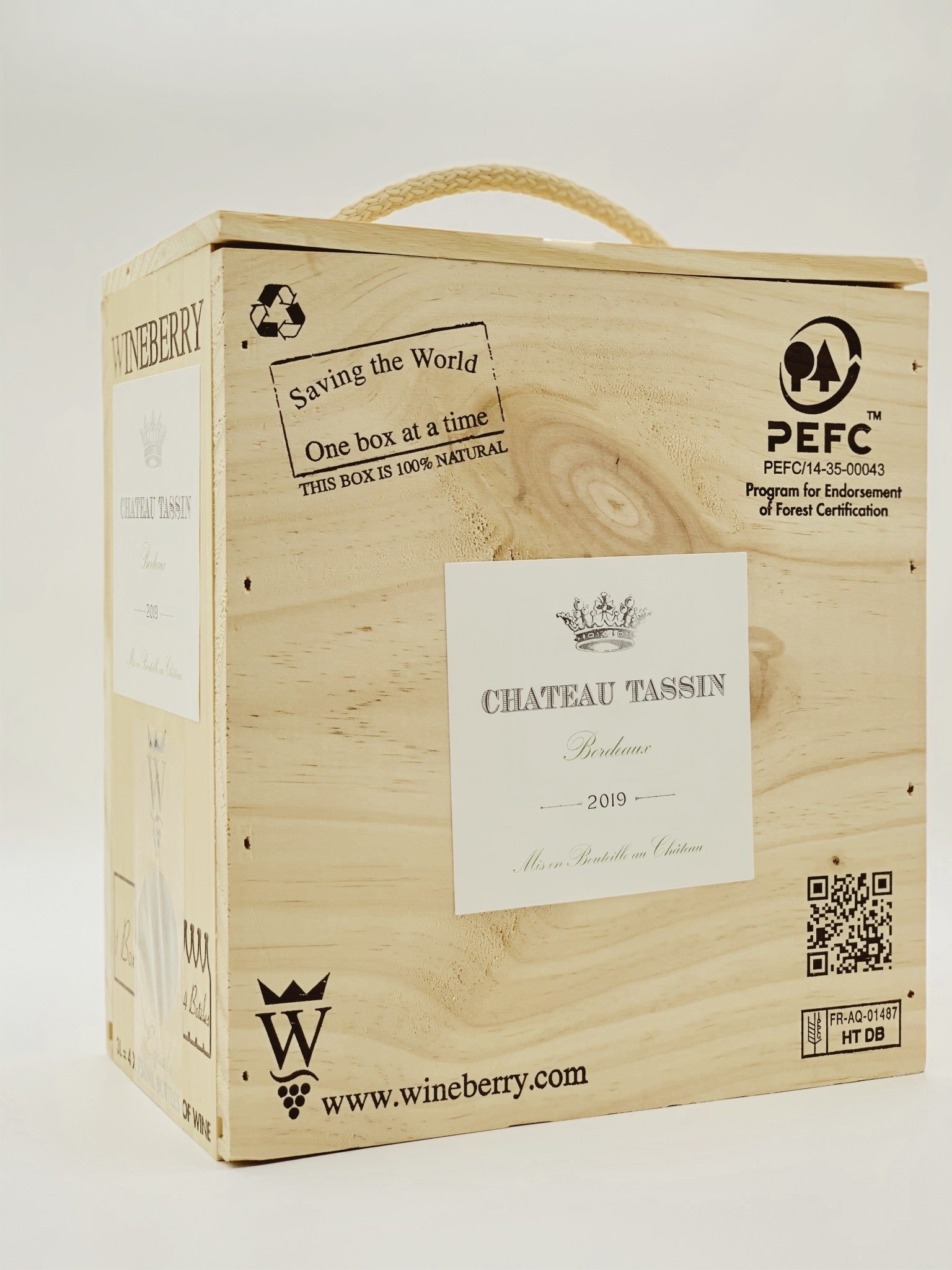 Bordeaux Blanc 3.0 Liter Box Wine 2018/19 Chateau Tassin