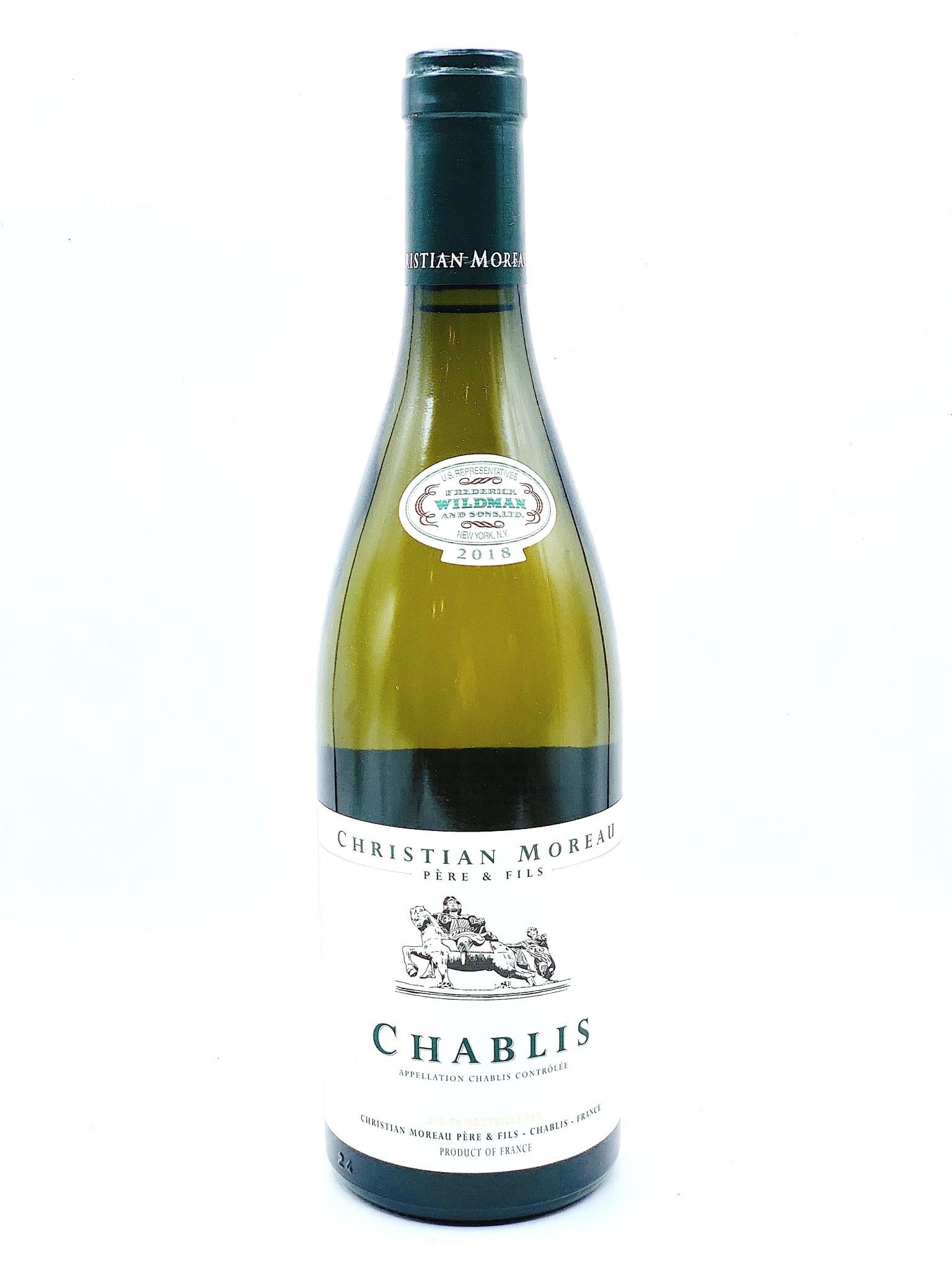 Chablis 2018 Domaine Christian Moreau 750ml