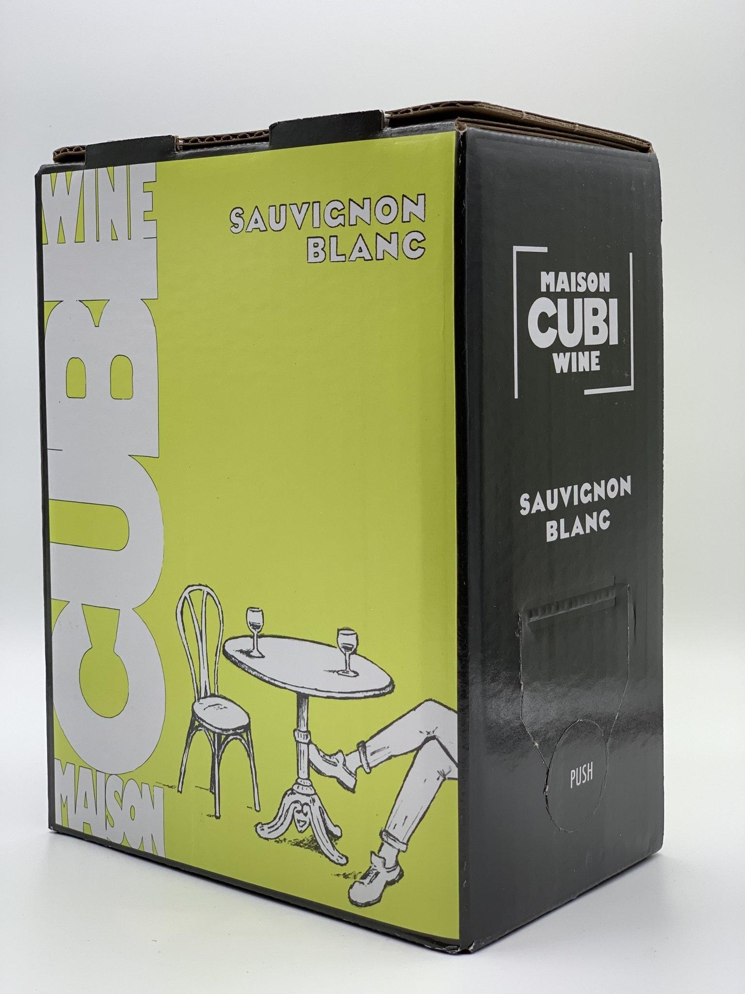 Pays D'oc Sauvignon Blanc 3.0 liter Box 2020 Maison Cubi