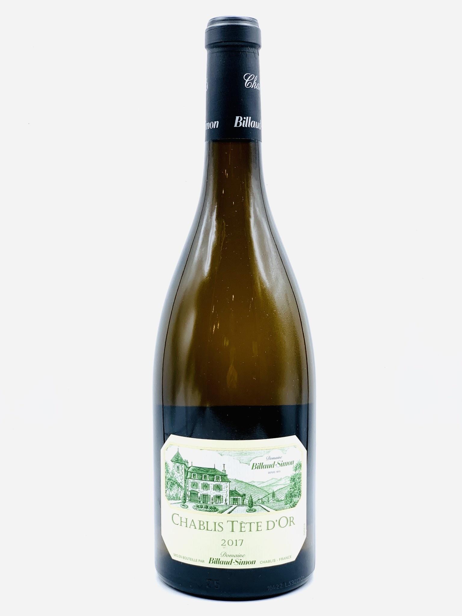 "Chablis 'Tete D'Or"" 2017 Domaine Billaud-Simon  750ml"