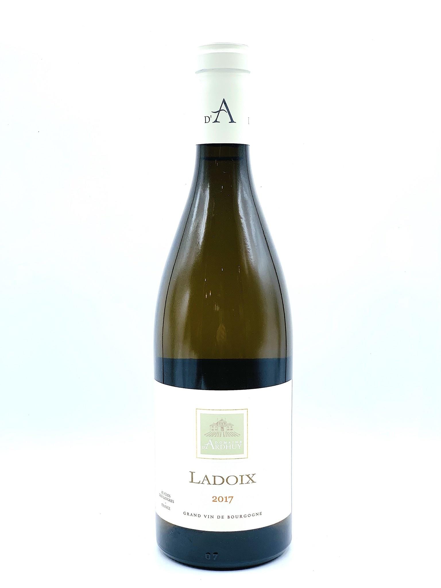 Bourgogne Blanc Ladoix 2017 Domaine d'Ardhuy