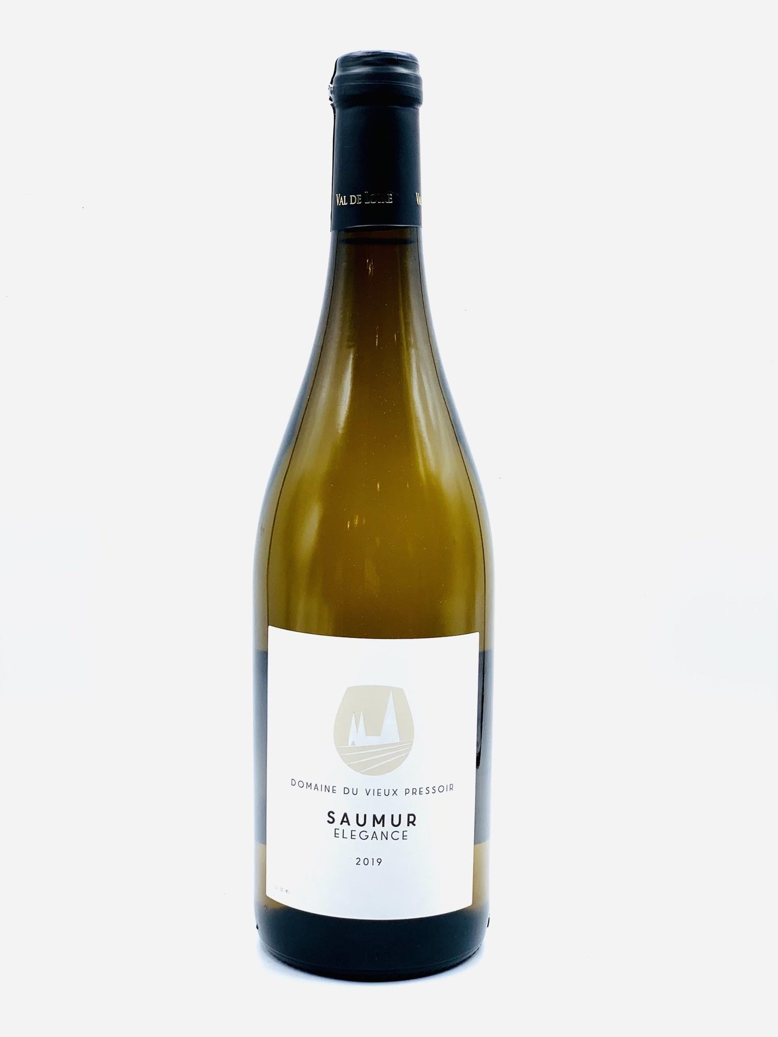 """Saumur Blanc 2019 Domaine Du Vieux Pressoir """"Elegance""""  750ml"""