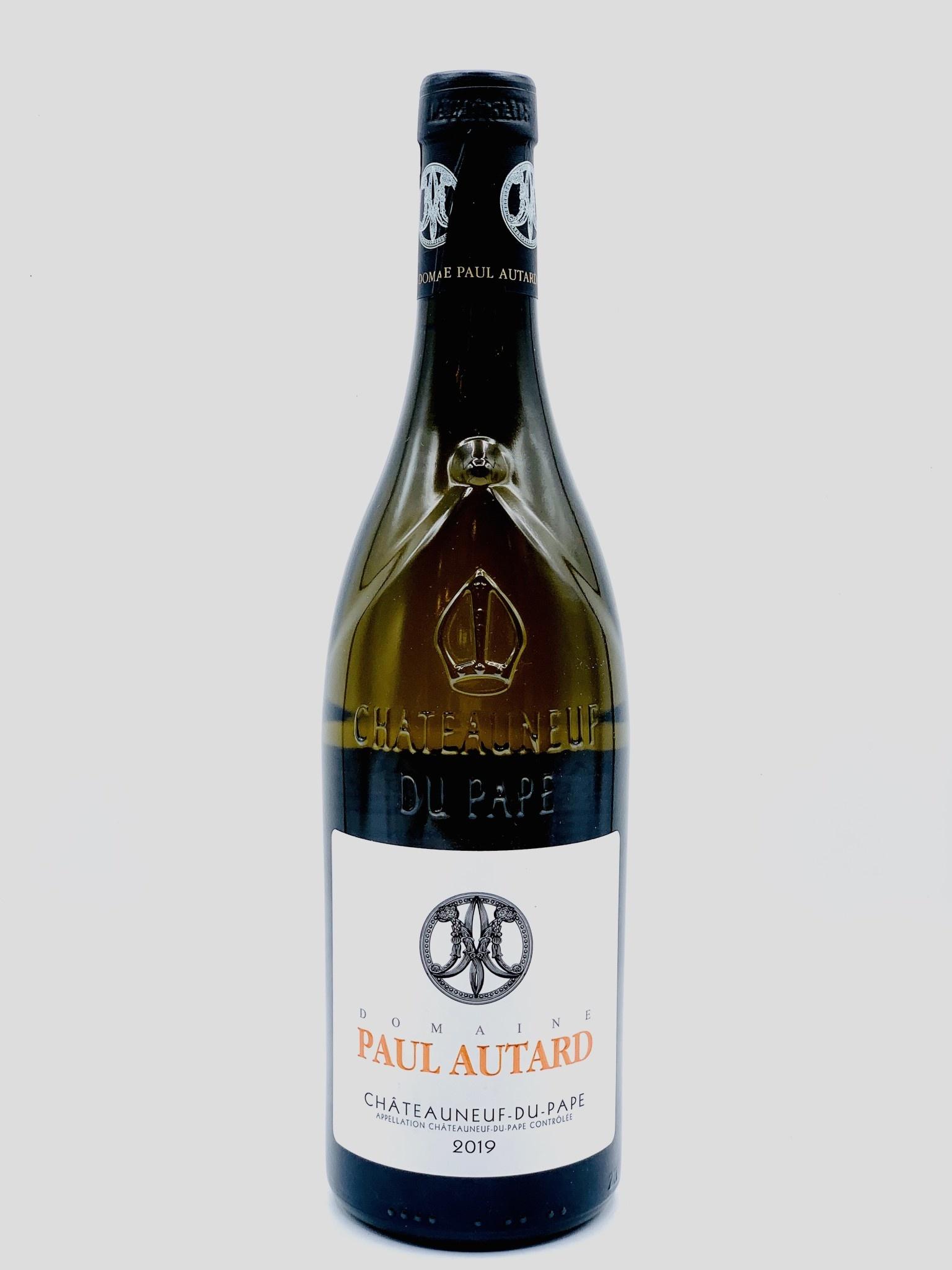 Chateauneuf du Pape Blanc 2017/19 Domaine Paul Autard 750ml