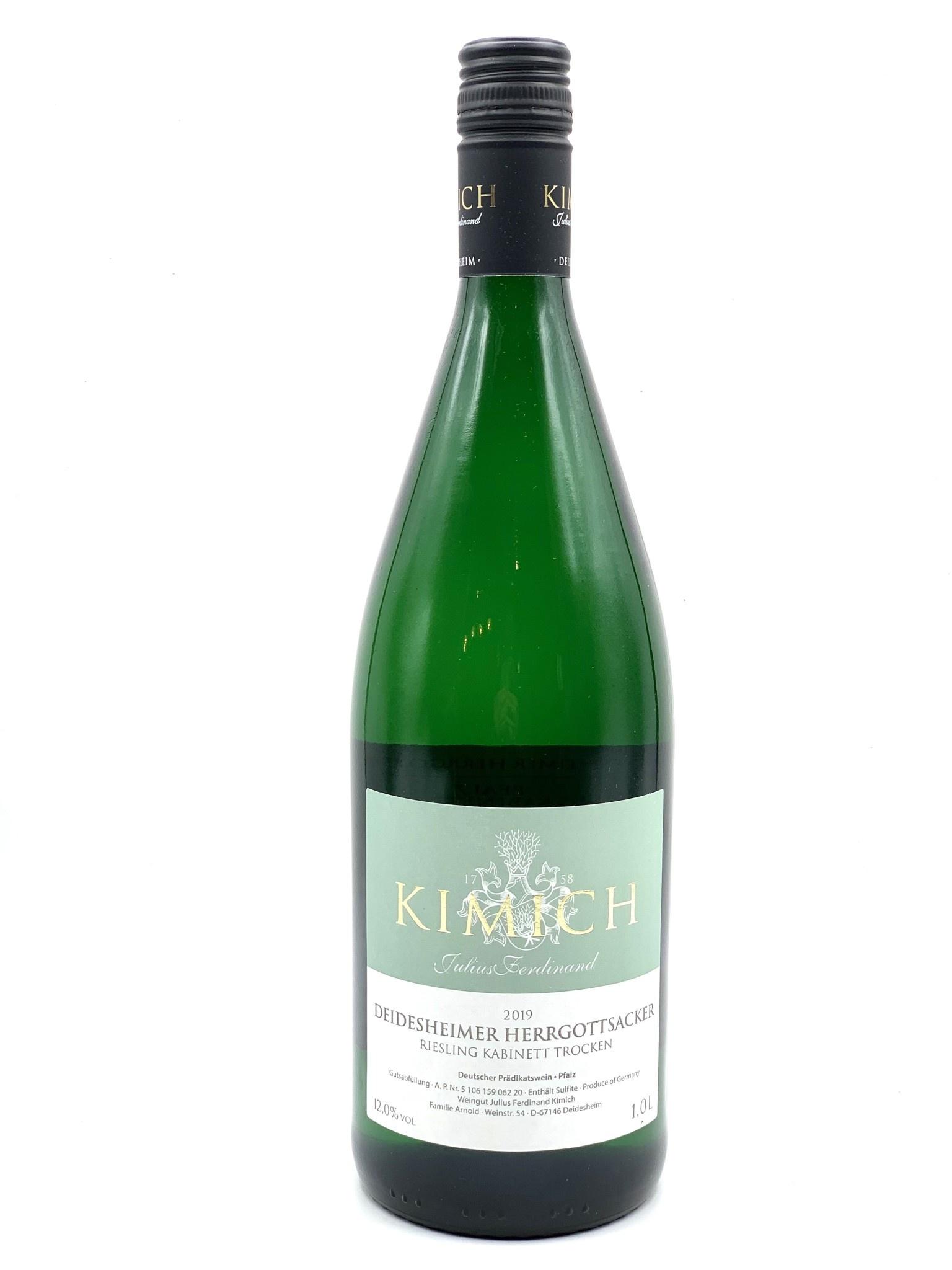 Pfalz Deidesheimer Riesling 2019 Kimich Herrgottsacker Kabinet Trocken  1.0L