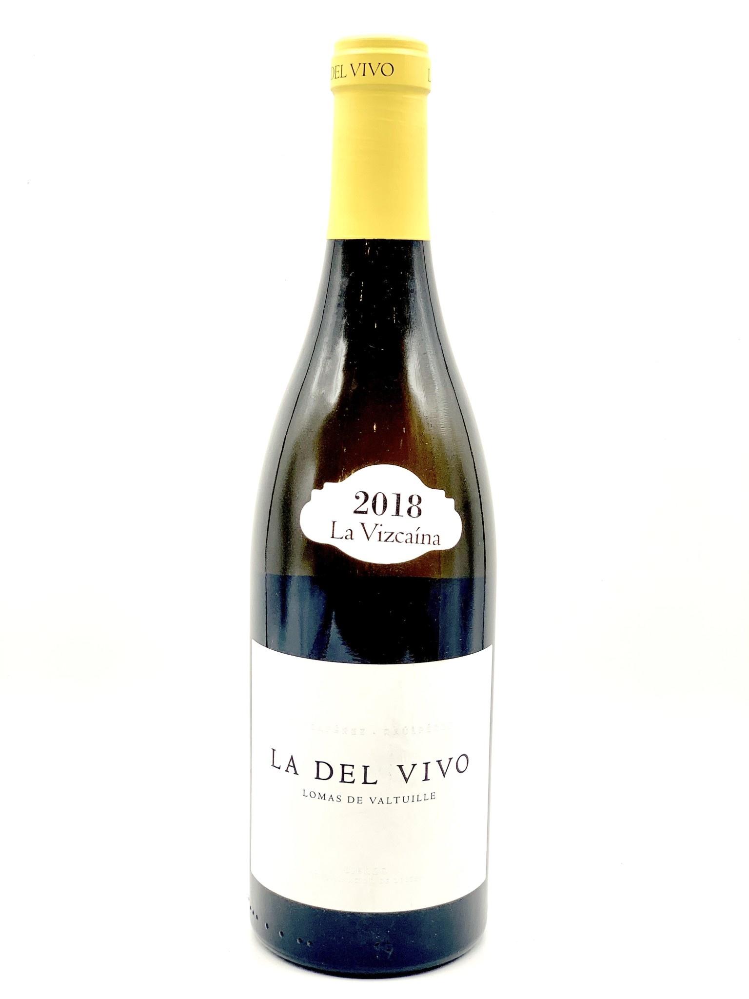 Bierzo La Del Vivo Bianco 2018 La Vizcaina by Raul Perez  750ml