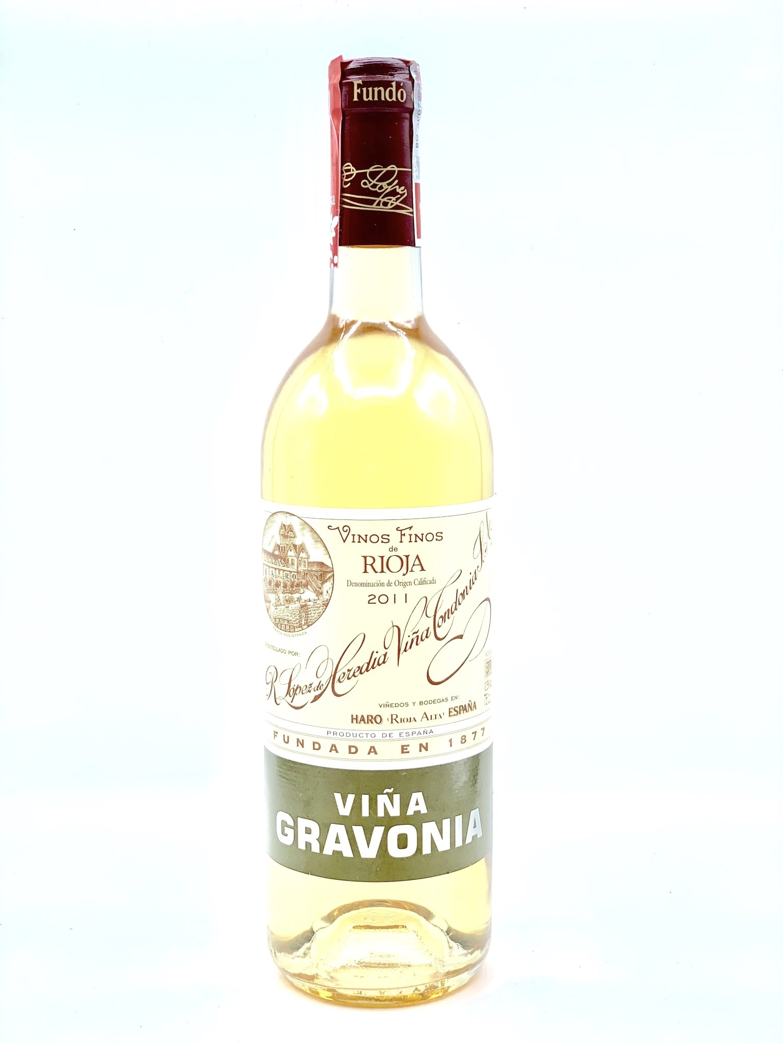 "Rioja Blanc ""Gravonia"" 2011 Lopez de Heredia  750ml"