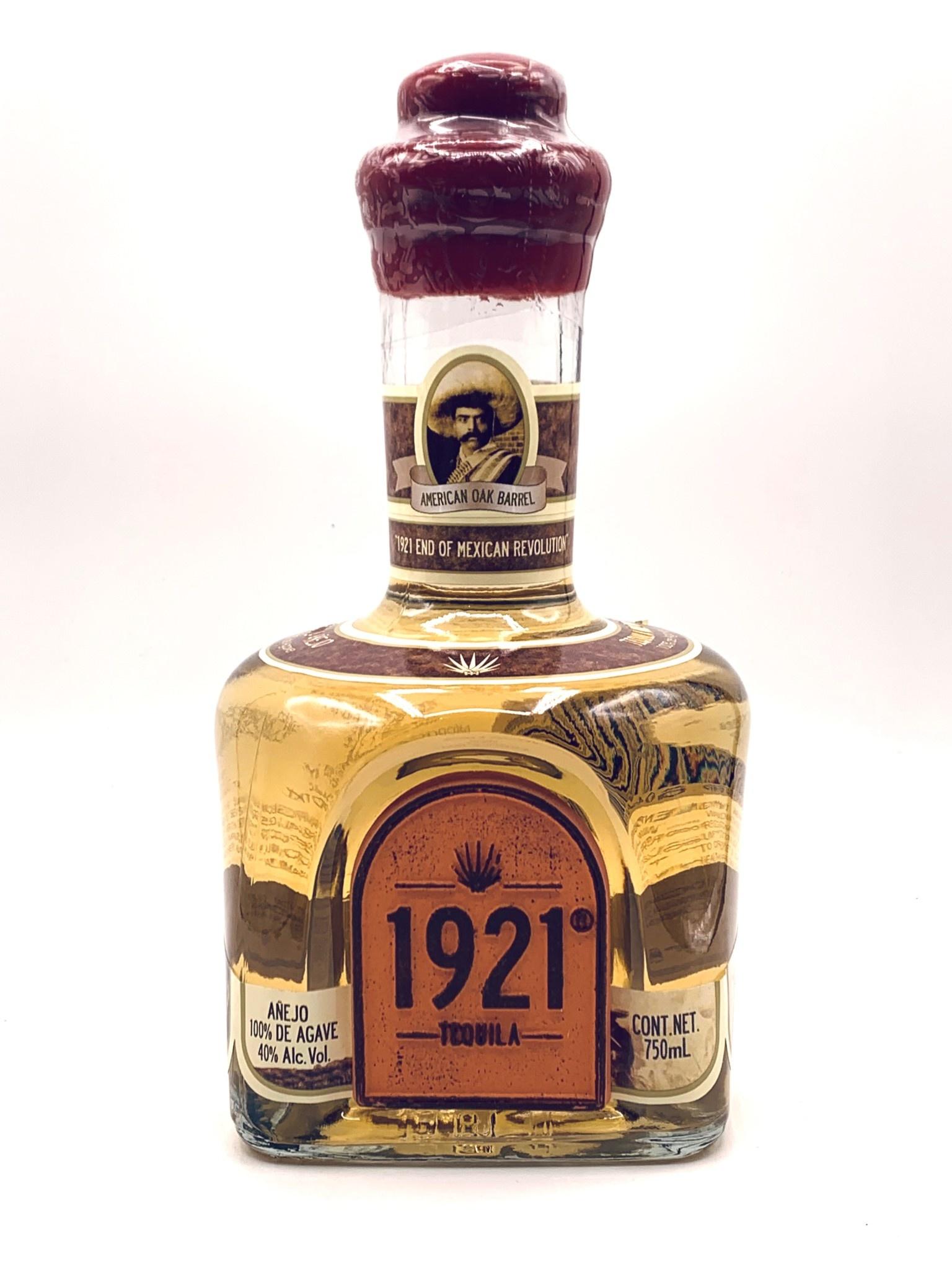 "Tequila 1921 Single Barrel Tequila ""Anejo"" 750ml (80 proof)"