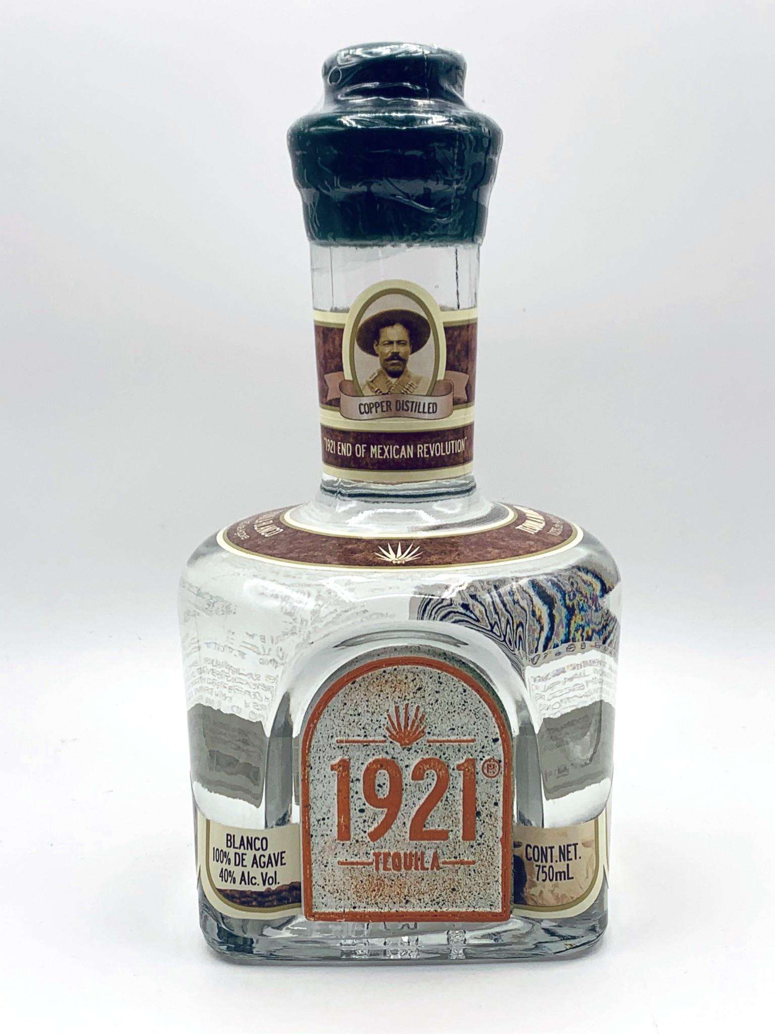 Tequila 1921 Copper Still Blanco 750ml (80 Proof)