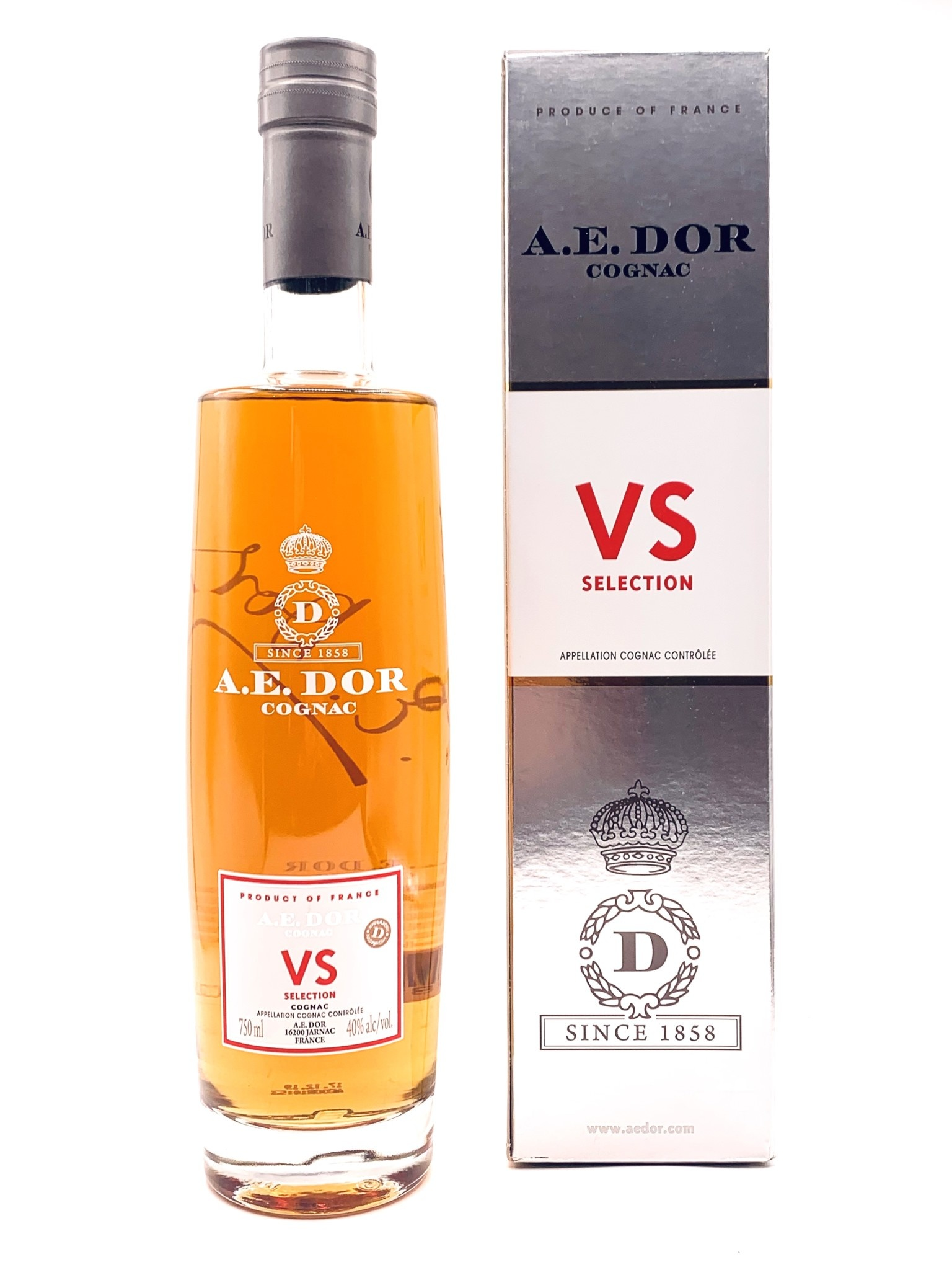 A E DOR Cognac VS 750ml (80 Proof)