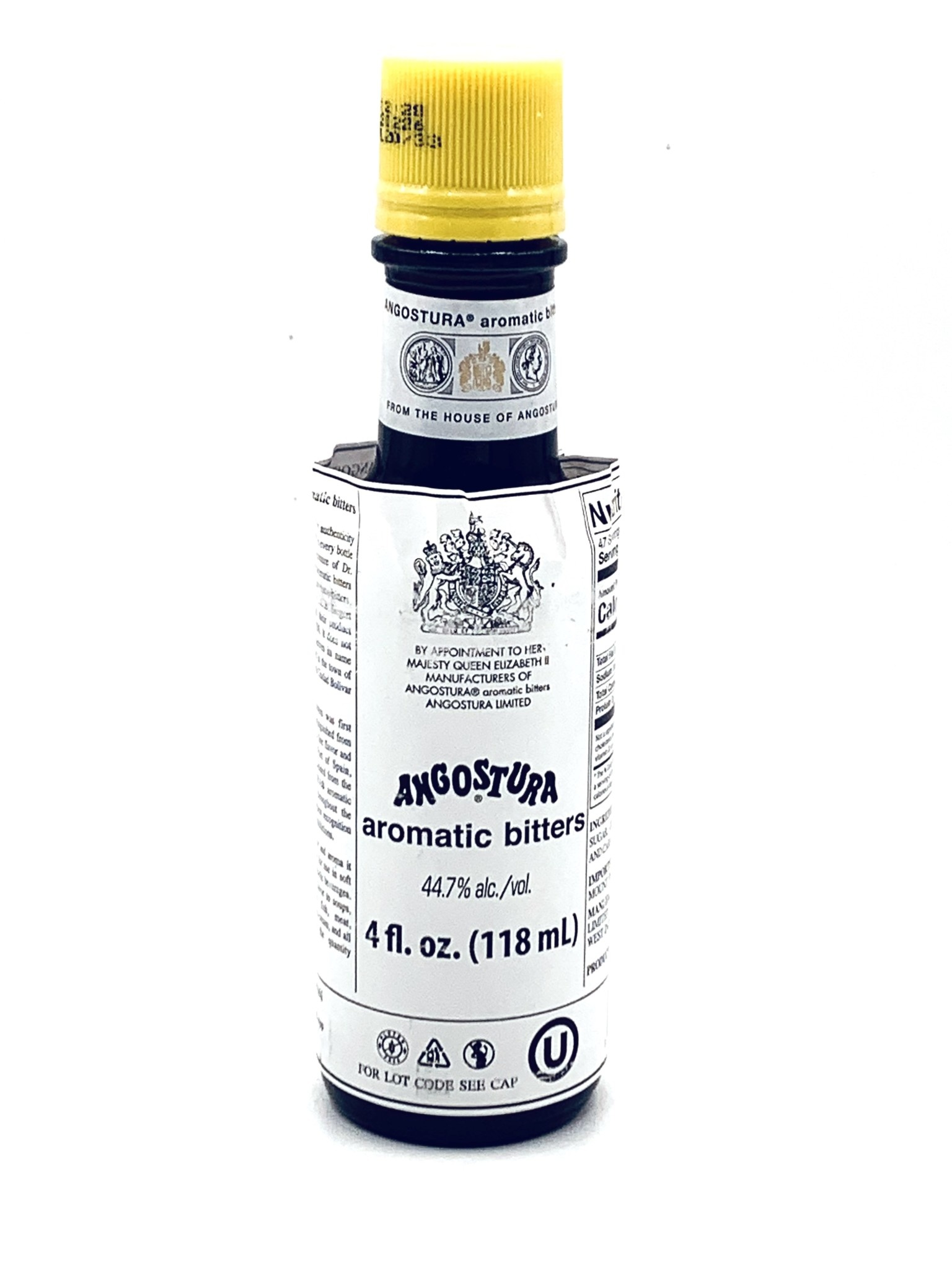 Angostura Aromatic Bitters  118ml (44.7% Alc)