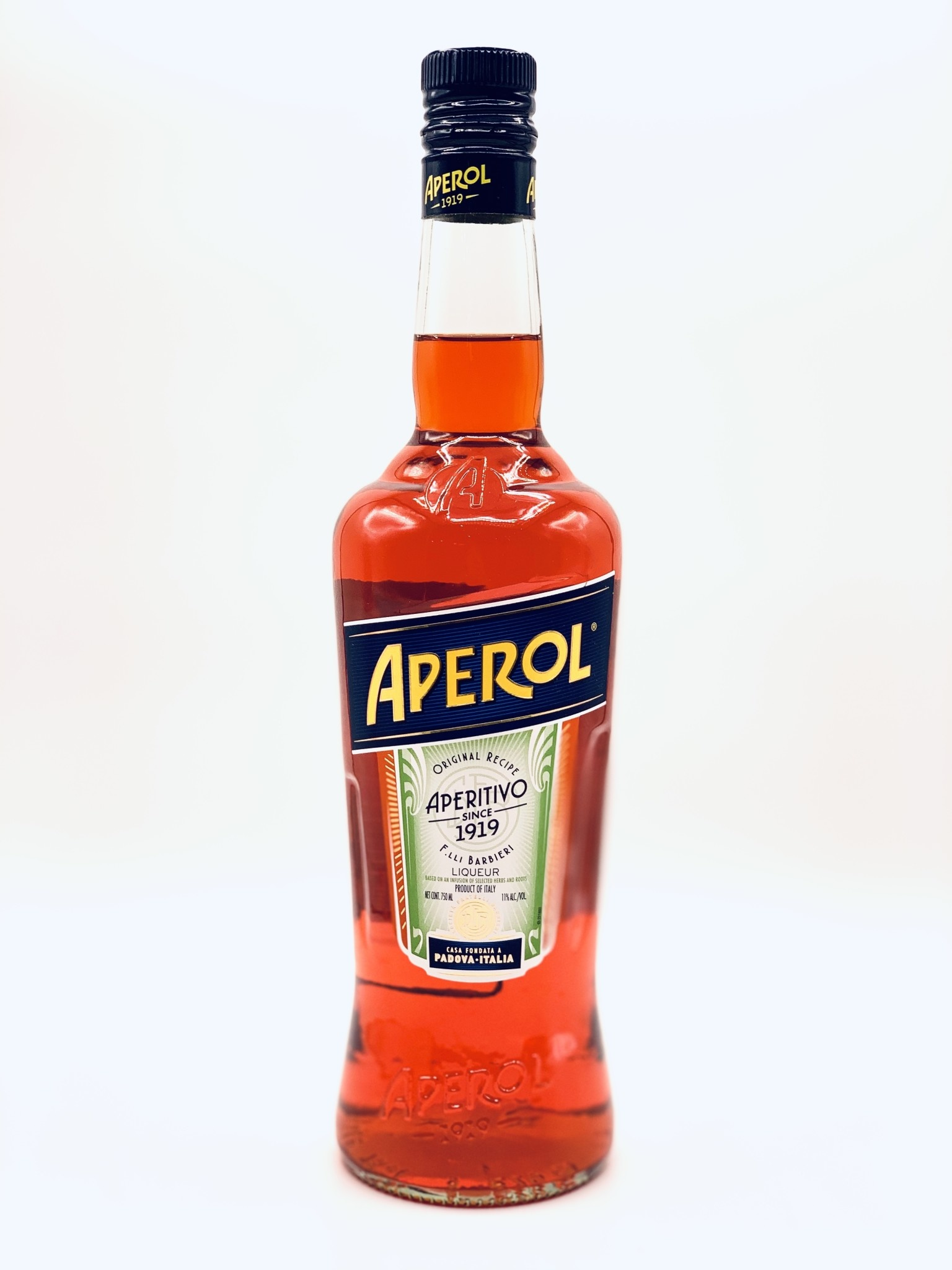 Aperol Aperitivo Liqueur Frateli Barbieri  750ml