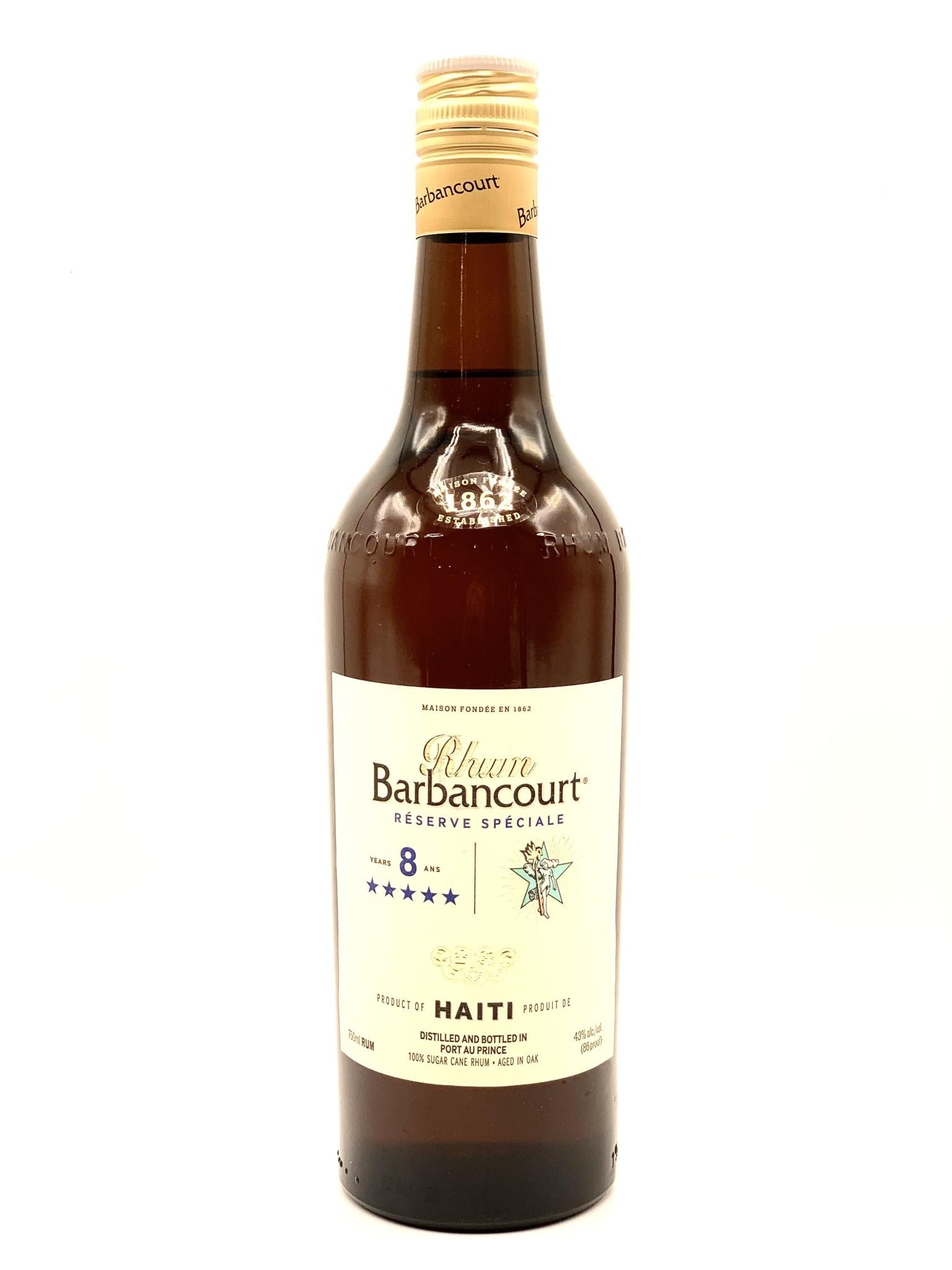 Rhum (Rum) Barbancourt 5 Star Reserve Speciale 750ml (86 Proof)