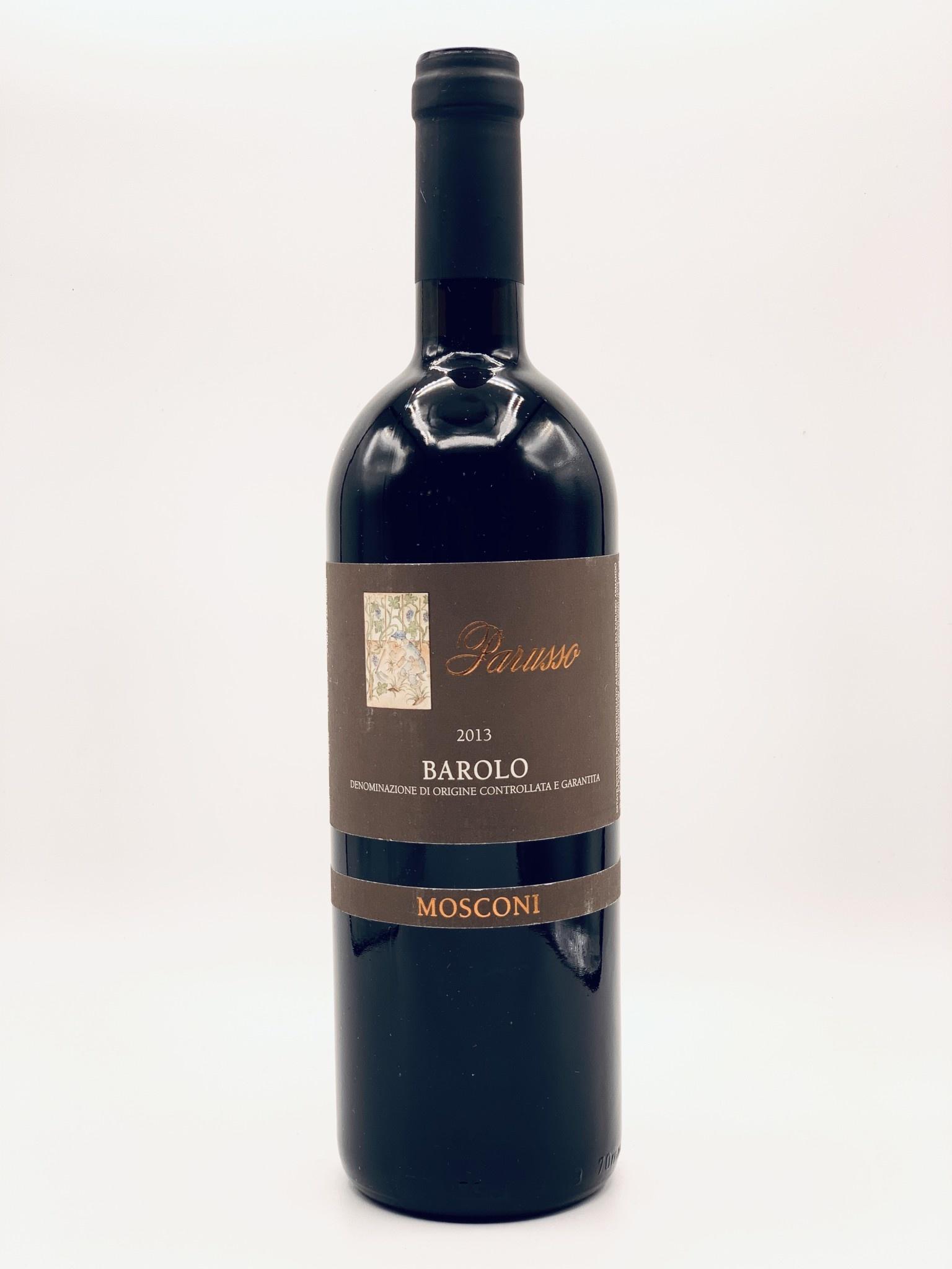 """Barolo """"Mosconi"""" 2013 Parusso DOCG  750ml"""