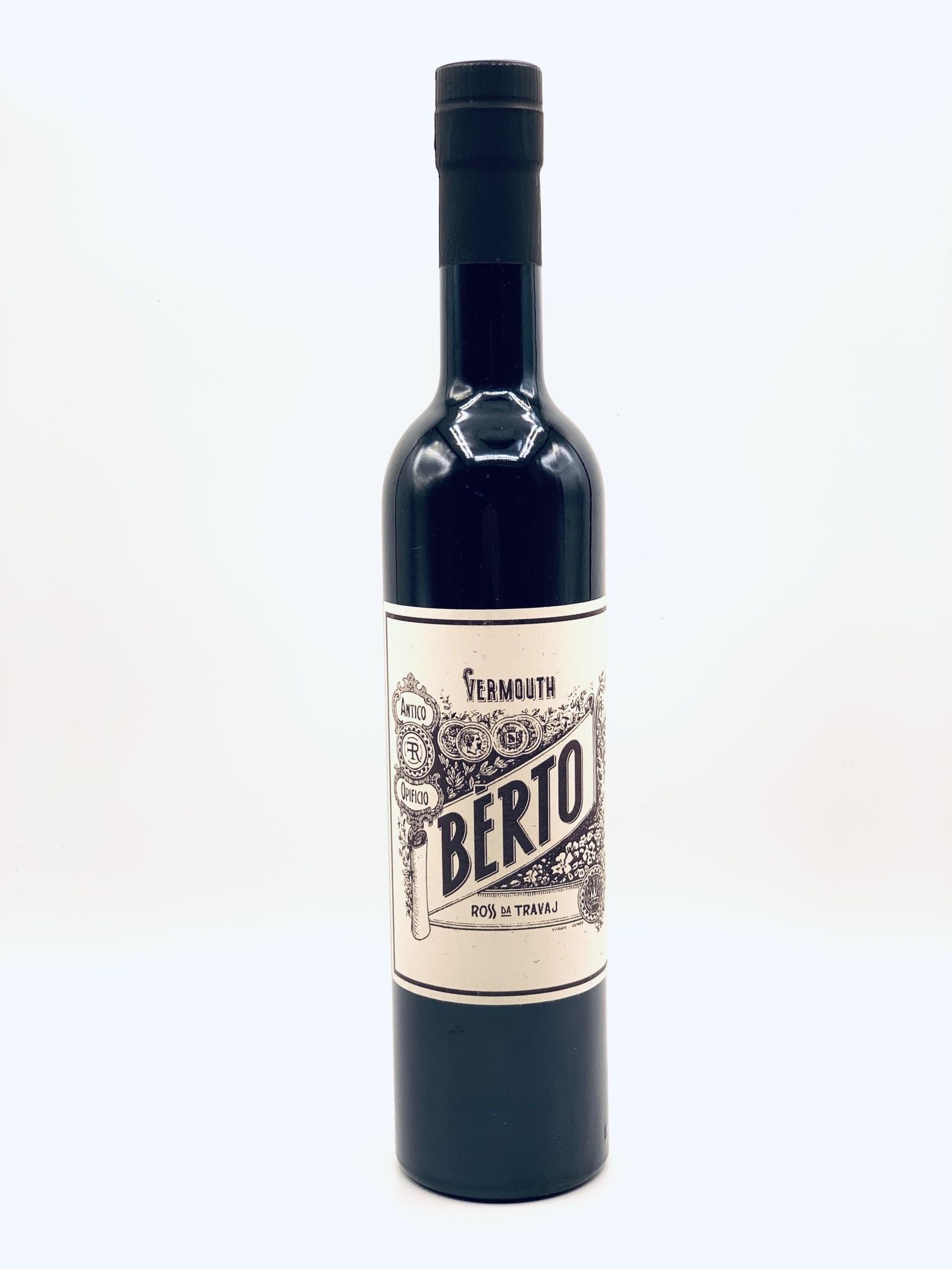 Berto Vermouth Ross da Travaj  500ml