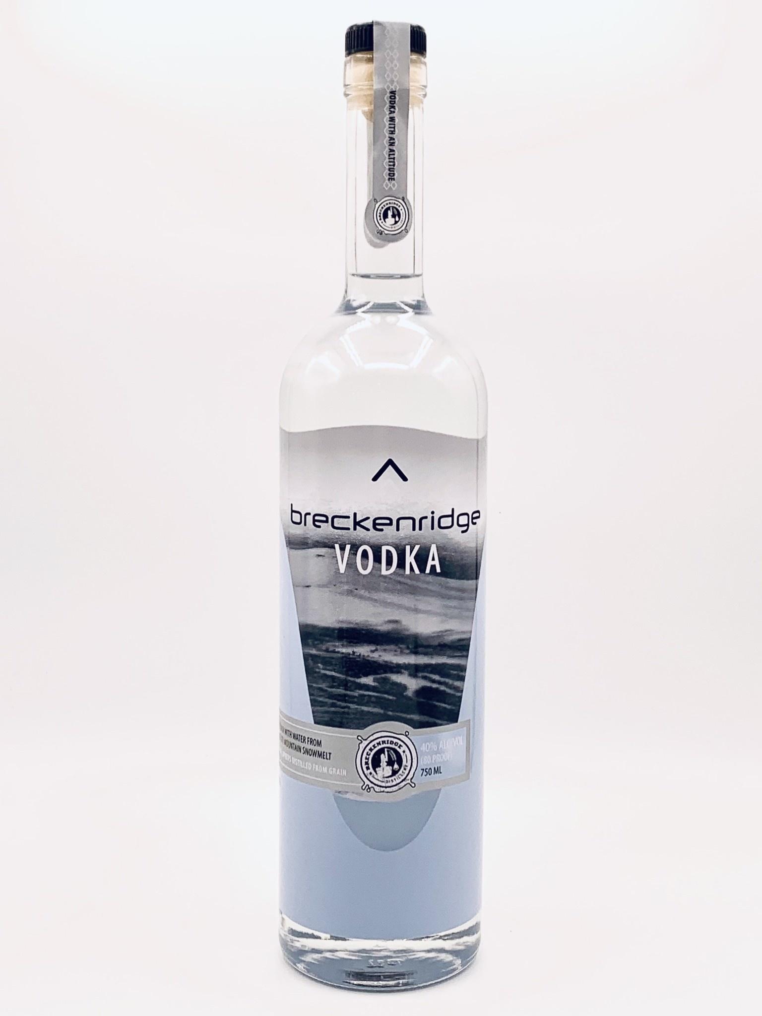 Breckenridge Colorado Vodka 80proof 750ml (80 Proof)