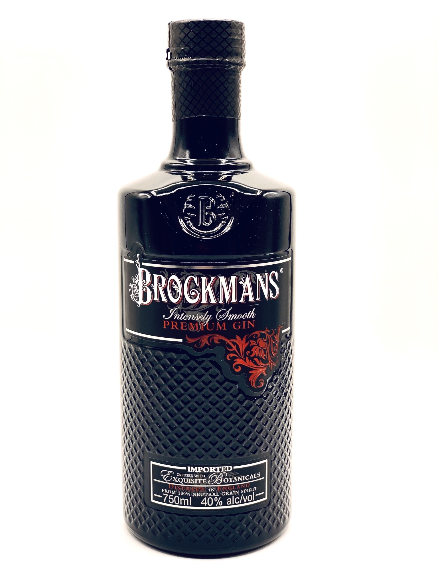Brockmans Premium English Gin (80 proof)  750ml