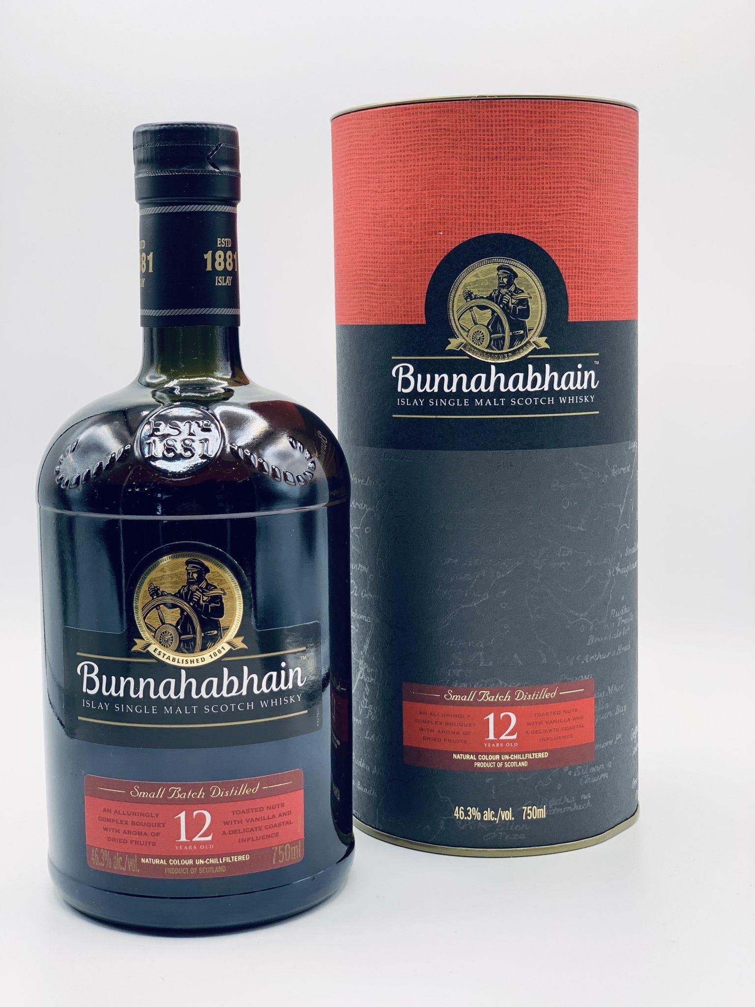 Bunnahabhain 12yr Islay Single Malt Scotch Whisky 750ml (92.6 Proof)75.95