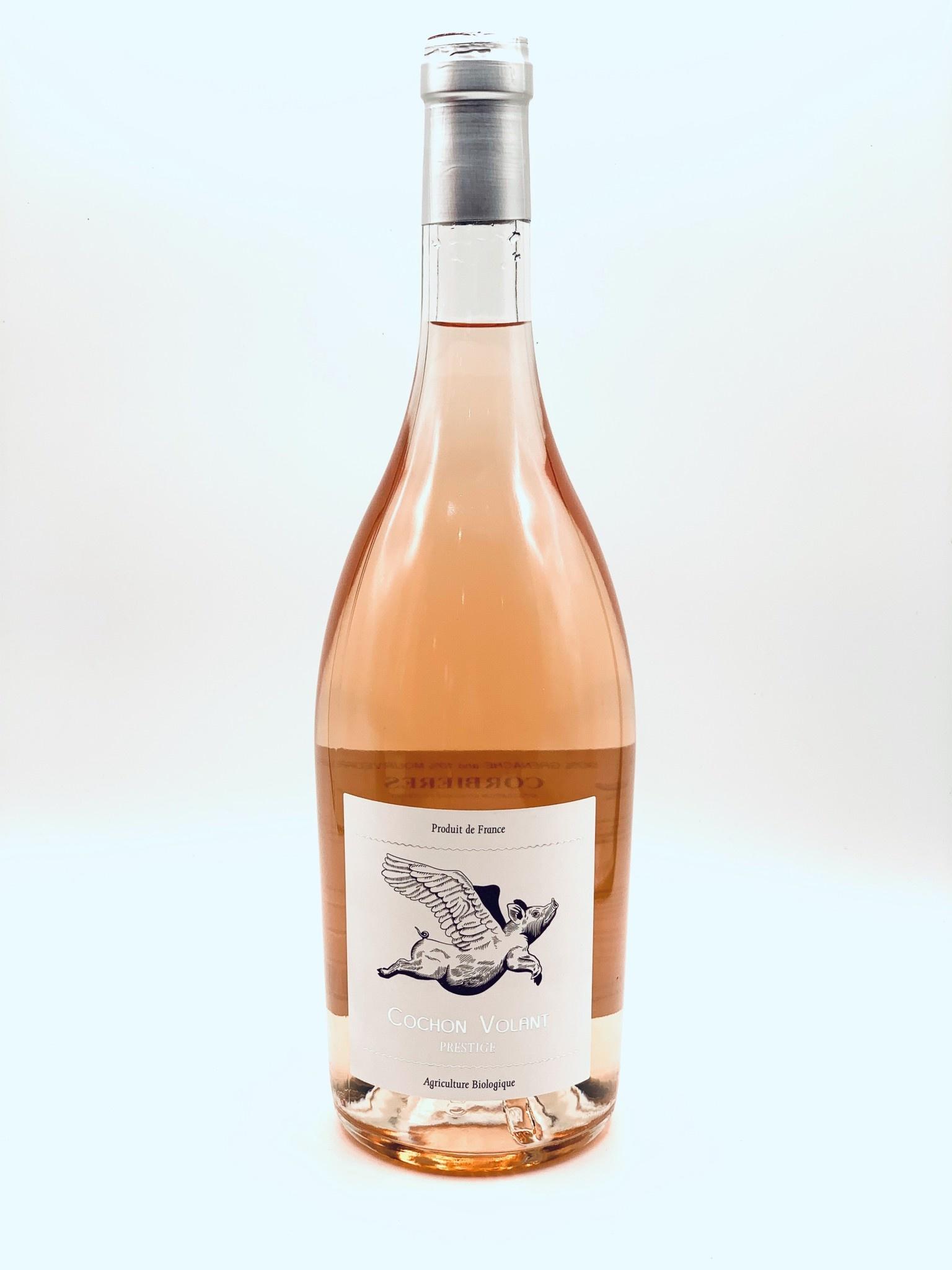 """Corbieres Rose """"Cochon Volant"""" 2020 Chateau de Caraguilhes  750ml"""