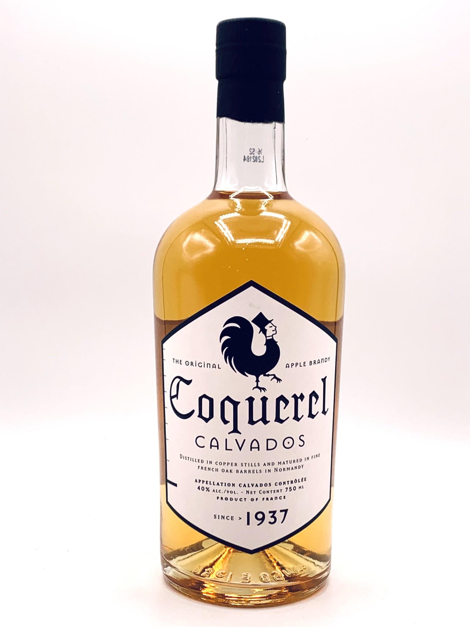 """Coquerel Calvados """"The Original Apple Brandy"""" 750ml (80 proof)"""