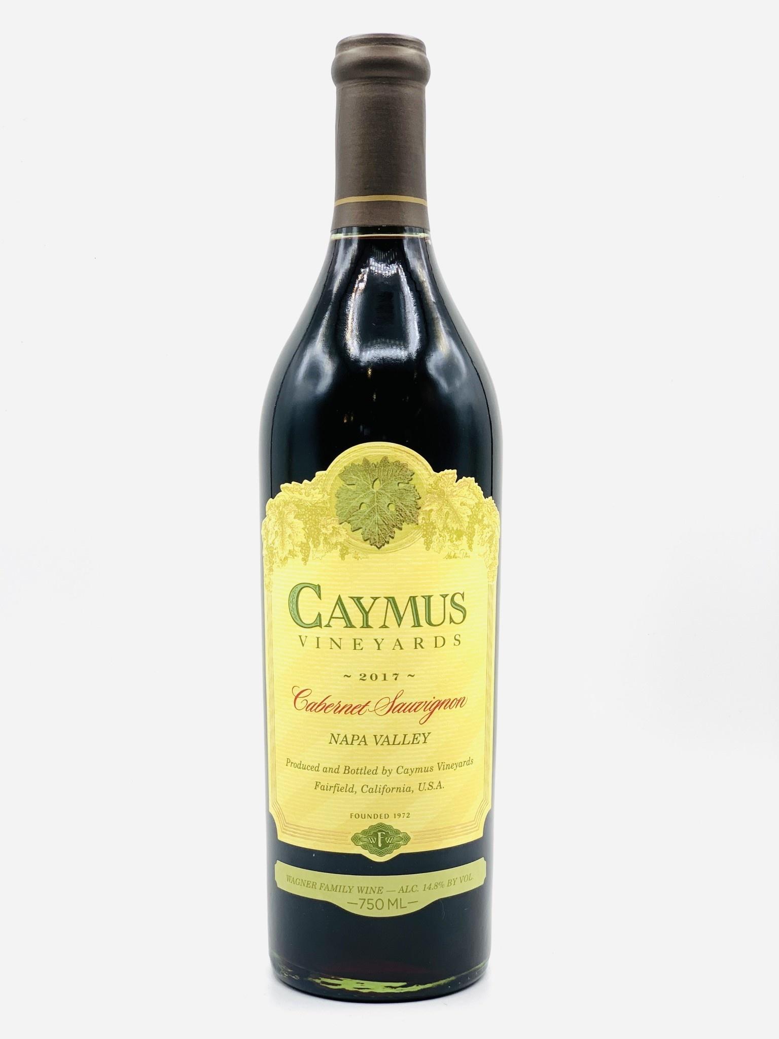 Napa Valley Cabernet Sauvignon 2017 Caymus Vineyards 750ml