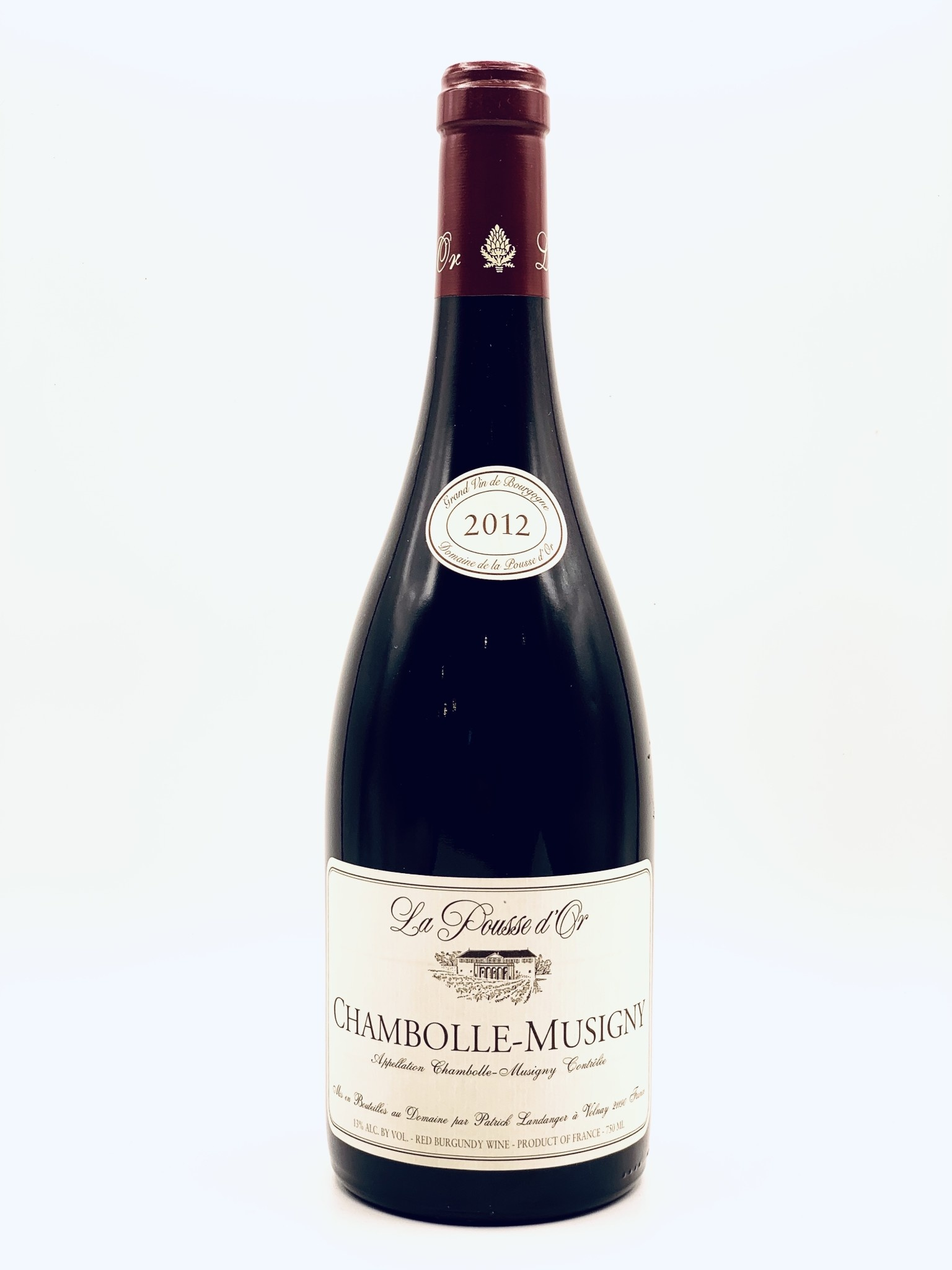 Chambolle Musigny 2012 Domaine de la Pousse d'Or  750ml