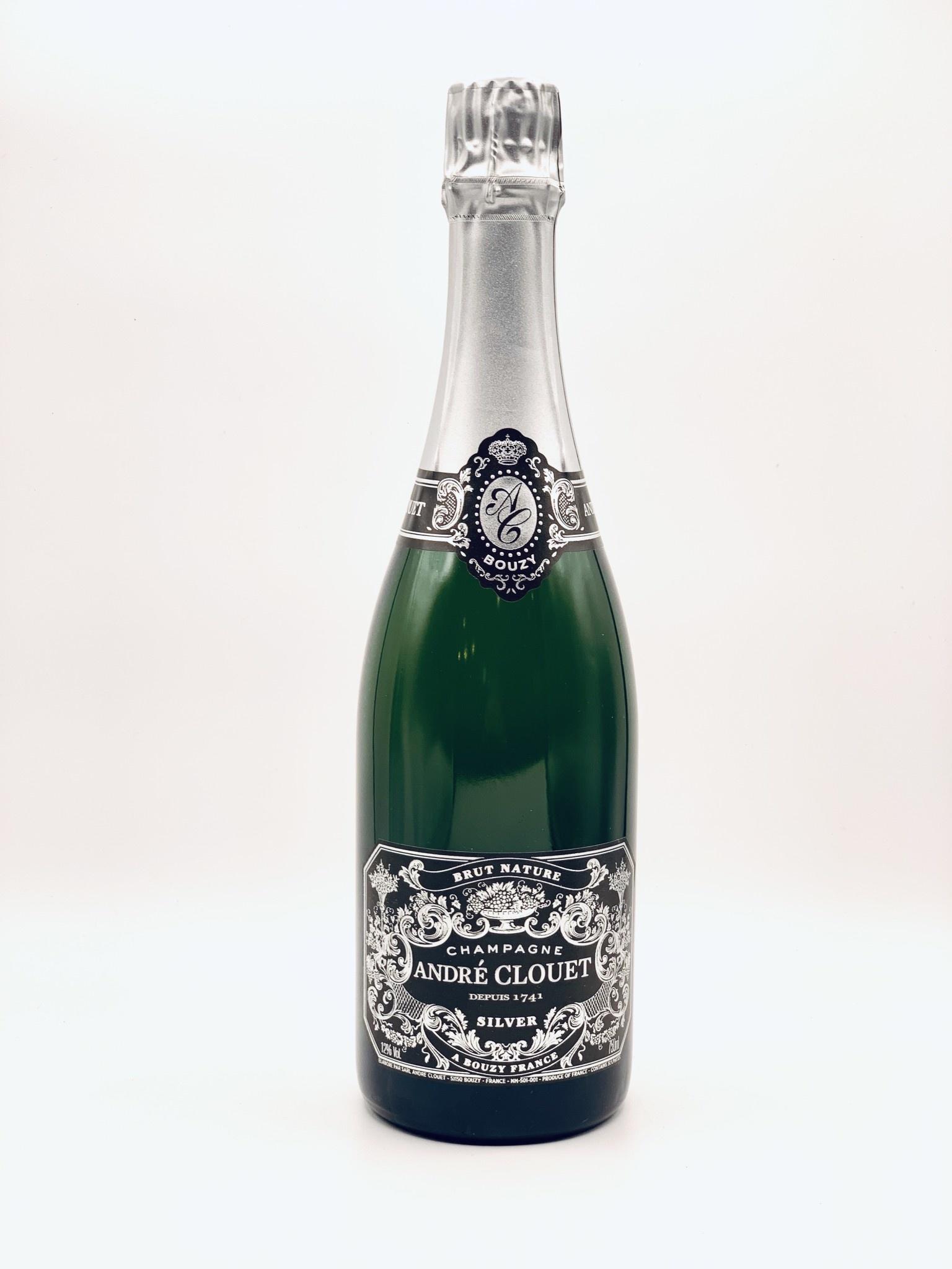 Champagne Brut Nature Grand Cru Blanc de Noir NV Andre Clouet Silver 750ml