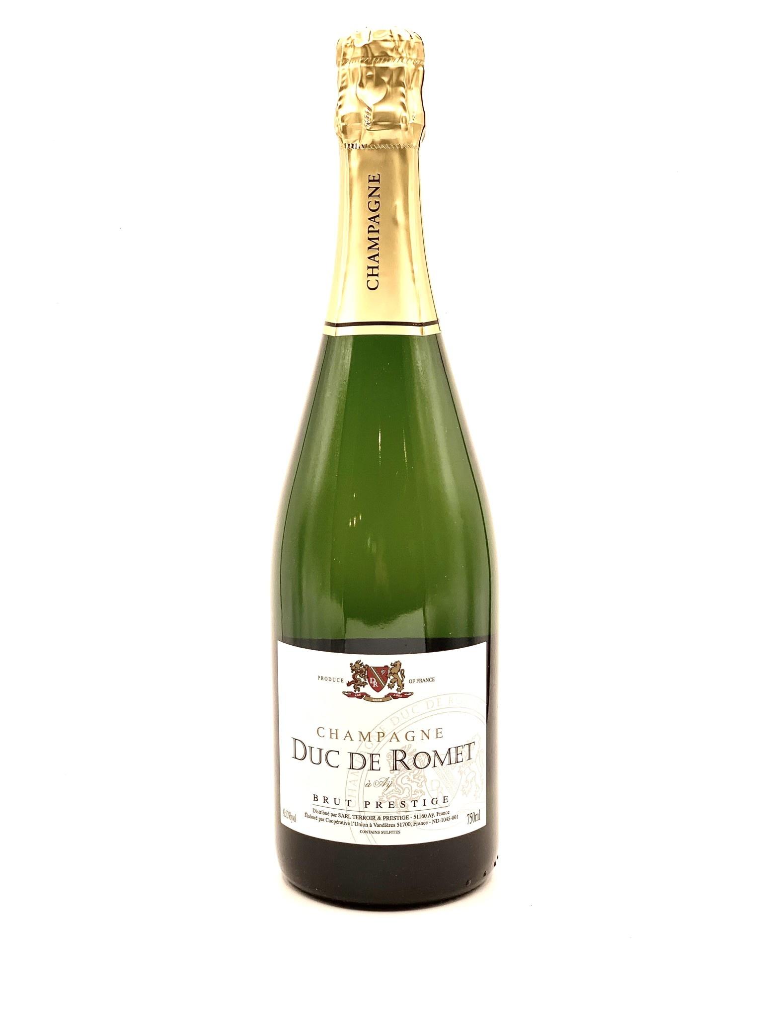 """Champagne Brut NV Rene Geoffroy """"Duc de Romet Prestige"""" 750ml"""