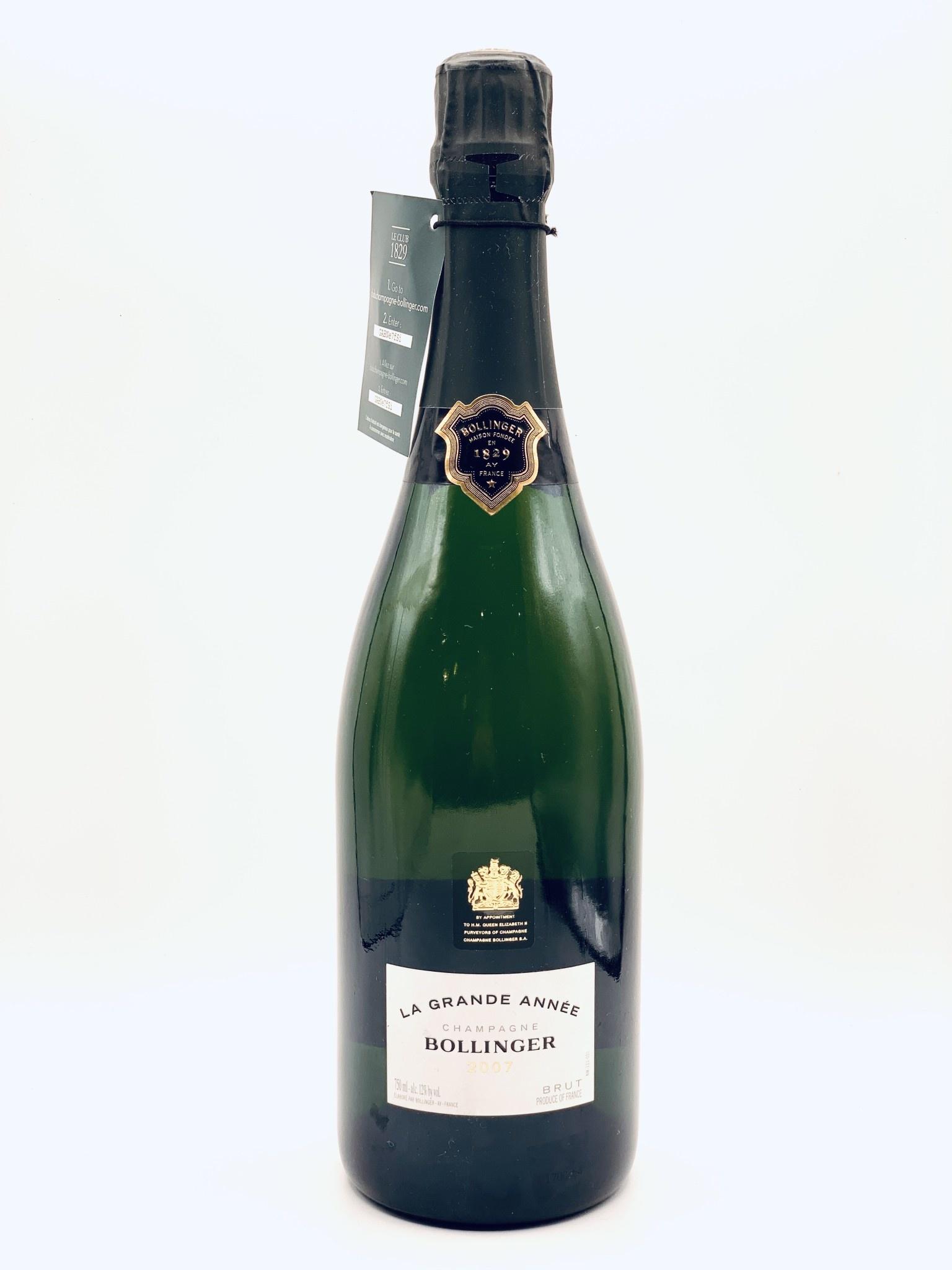 "Champagne Brut 2007 Bollinger ""La Grande Annee"" 750ml"