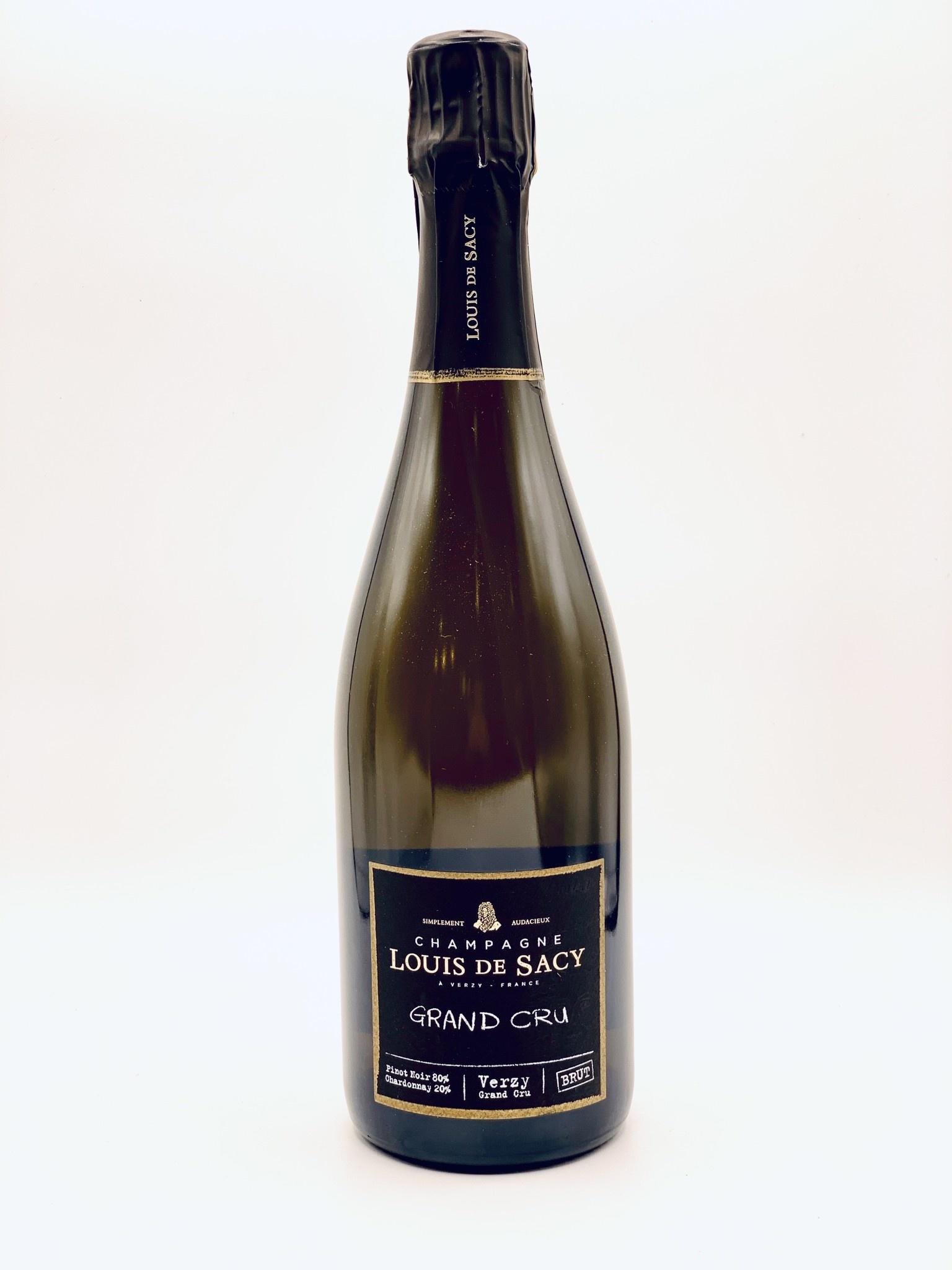 """Champagne Extra Brut NV Louis de Sacy """"Grand Cru"""" 750ml"""