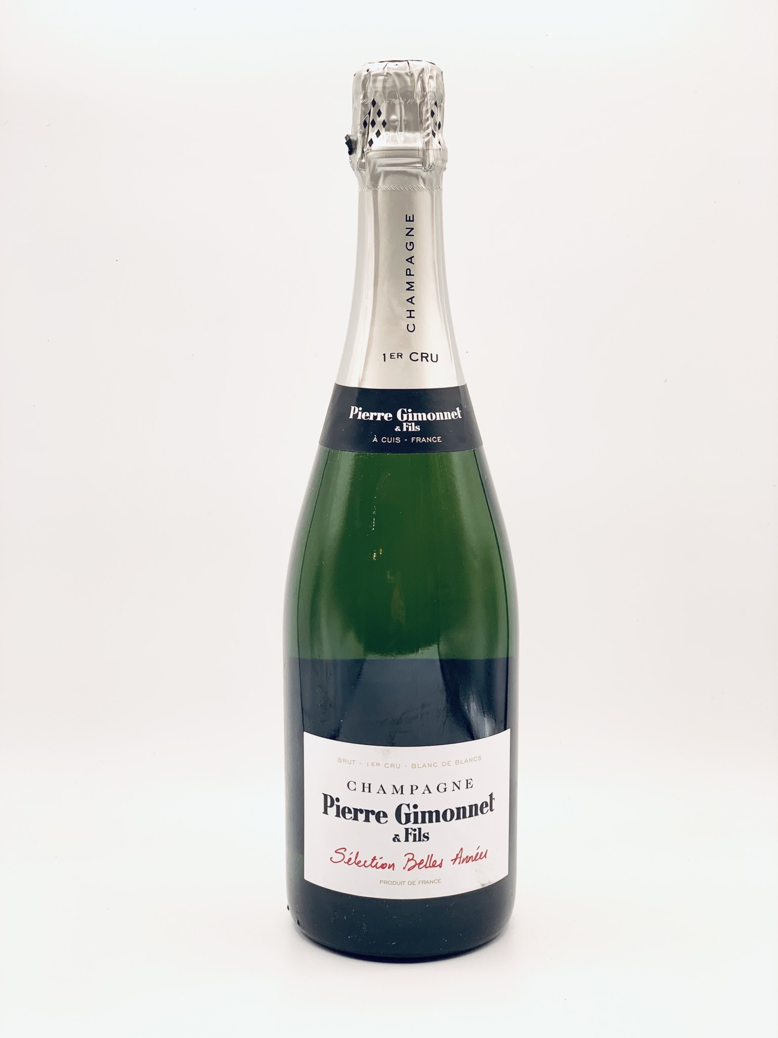 "Champagne Brut 1er Cru Blanc de Blancs NV Pierre Gimonnet ""Selection Belles Annees"" 750ml"