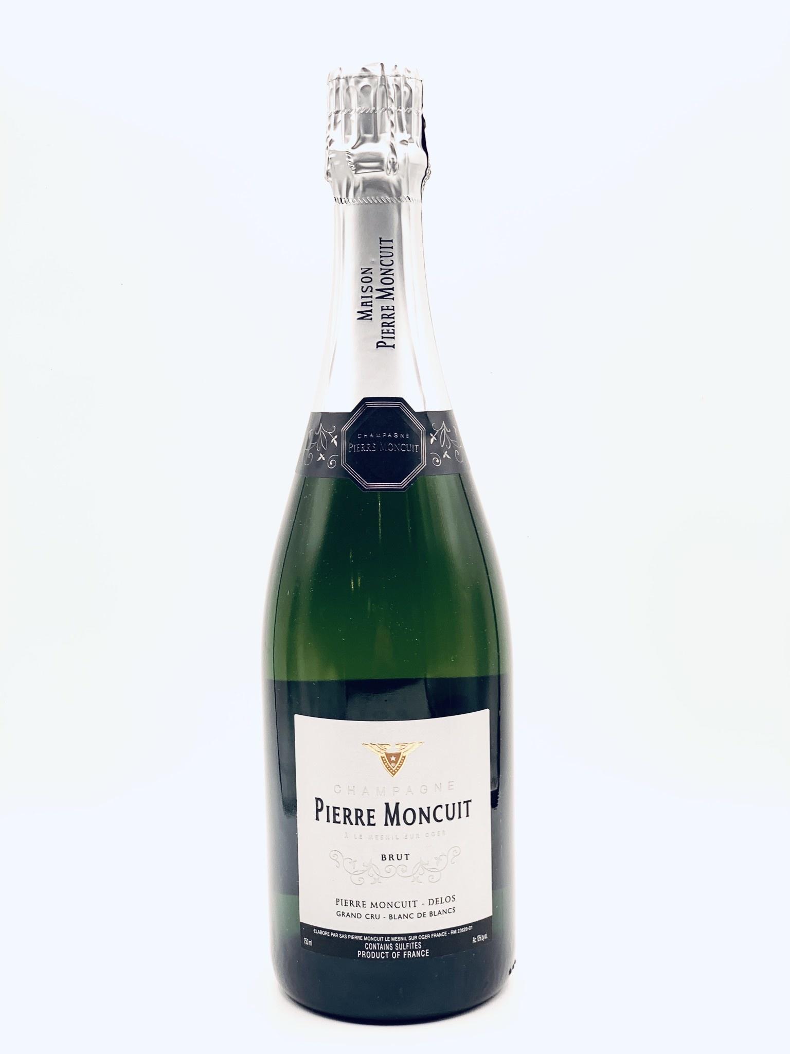 Champagne Brut Grand Cru Blanc de Blancs NV Pierre Moncuit-Delos