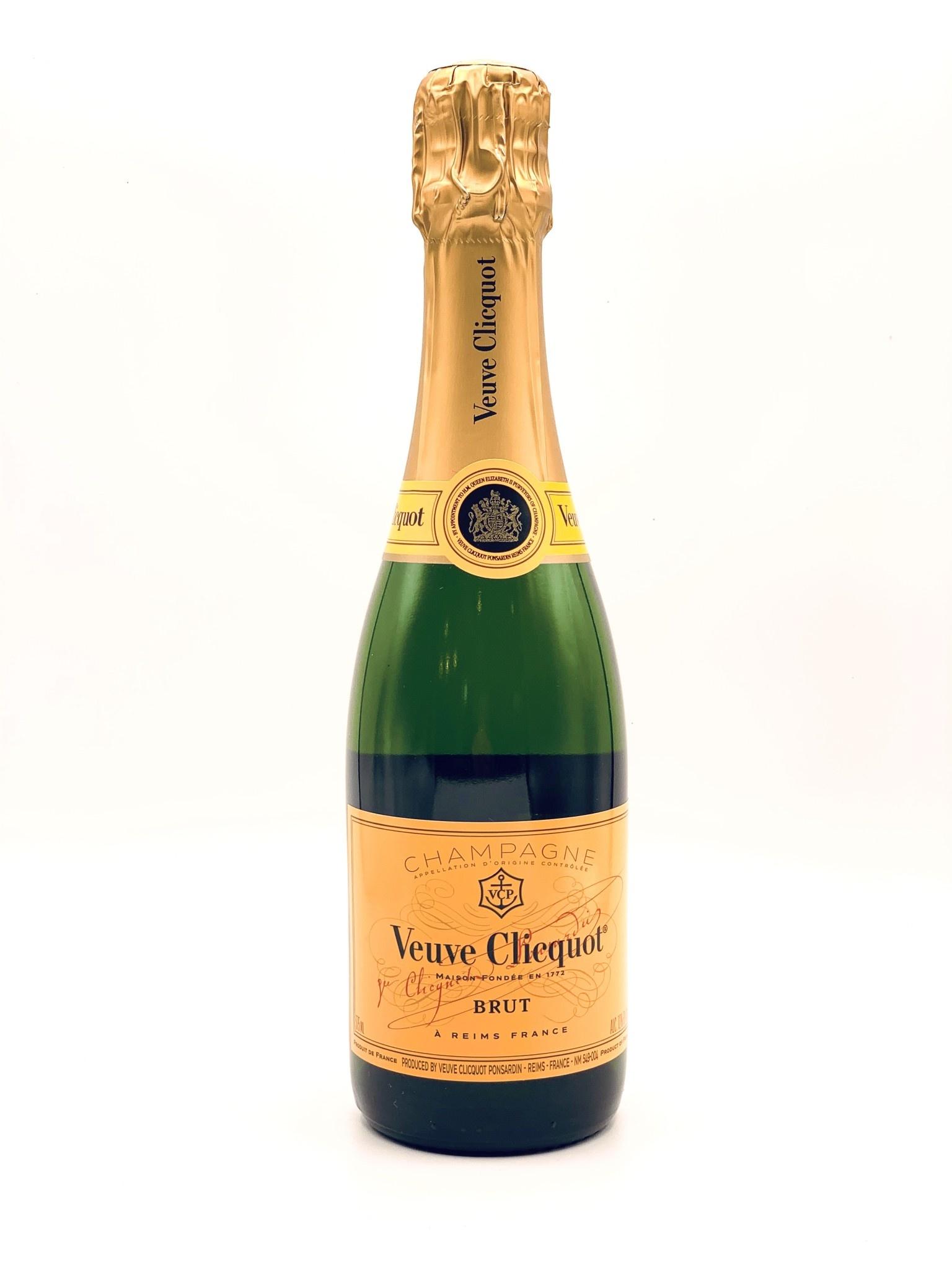 "Champagne Brut NV Veuve Clicquot  ""Yellow Label"" 375ml"