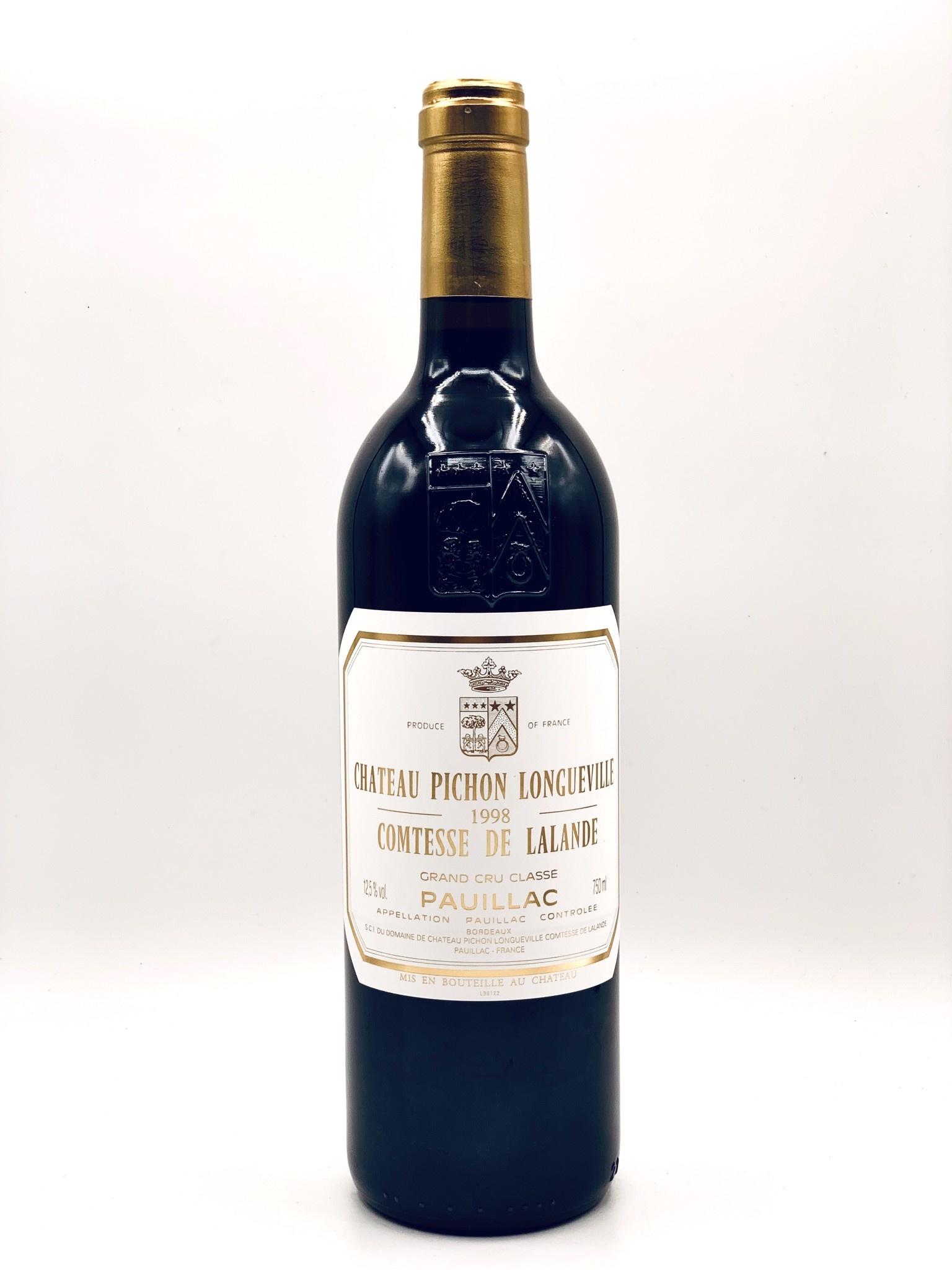 Pauillac Grand Cru 1998 Chateau Pichon-Longueville Comtesse de Lalande