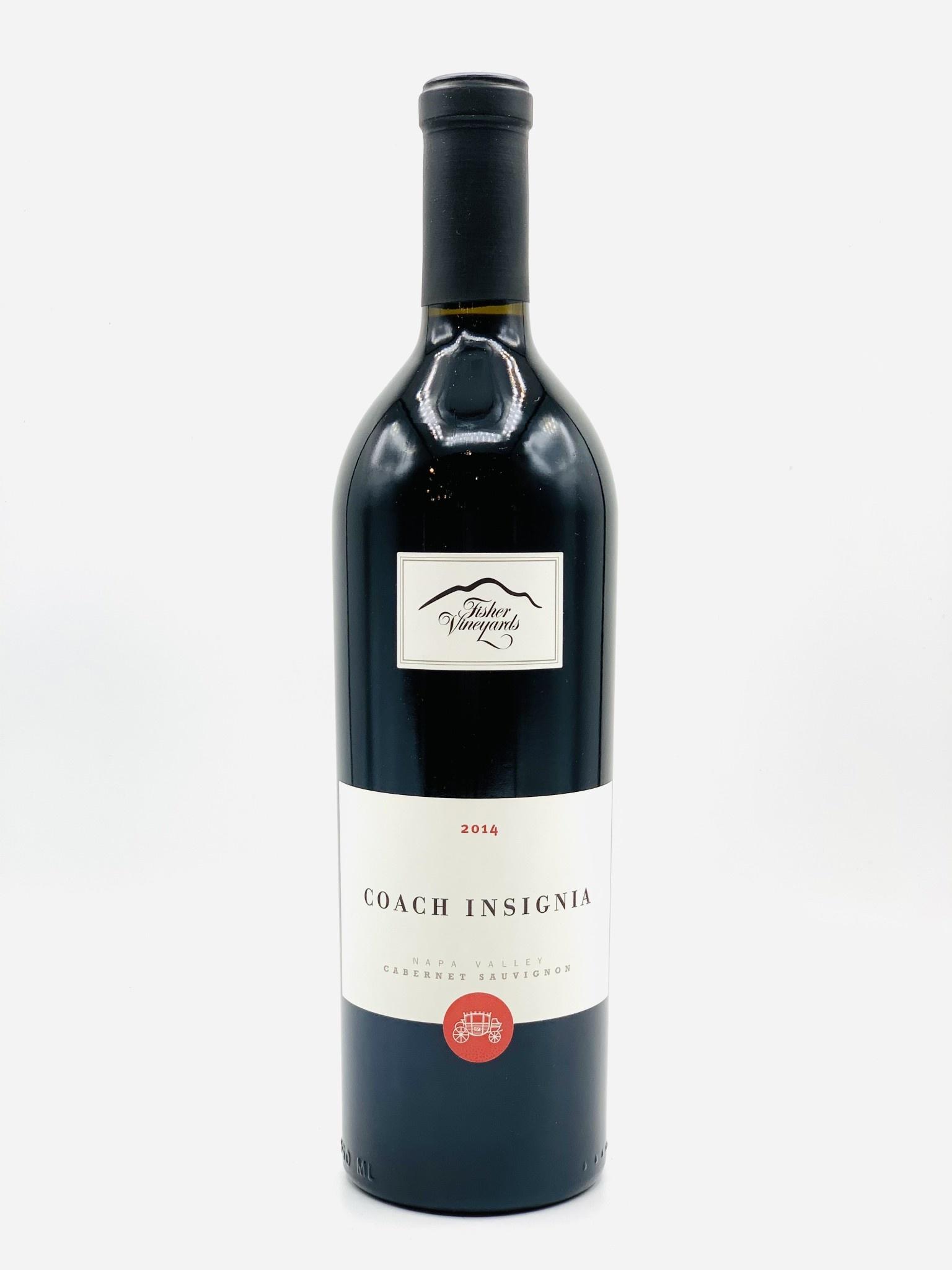"Napa Valley Cabernet Sauvignon 2014 Fisher Vineyards ""Coach Insignia"" 750ml"