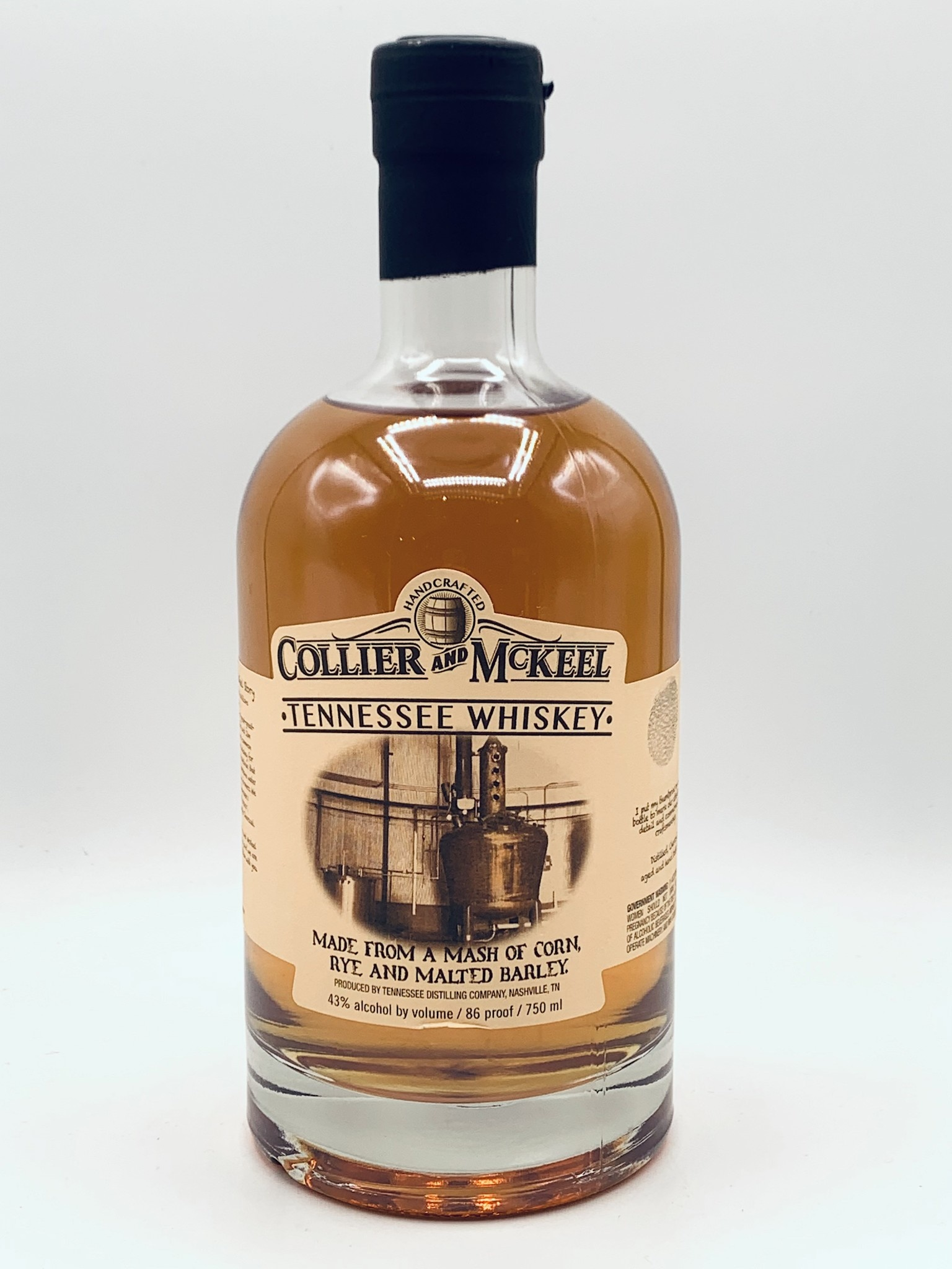 Collier & Mckeel Tennessee Whiskey 750ml (86 Proof)