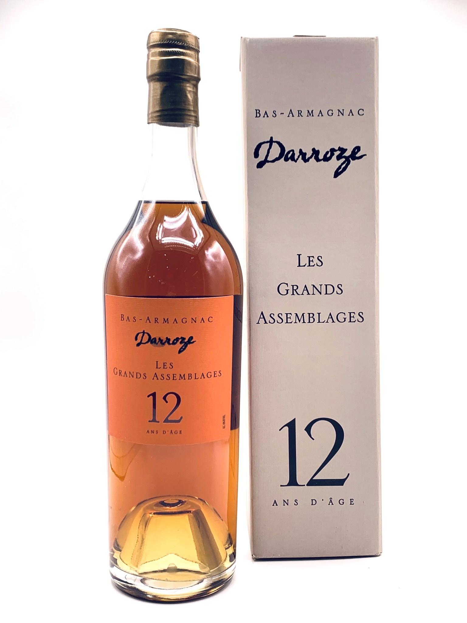 """Francis Darroze Bas-Armagnac  12yr. """"Les Grands Assemblages"""""""