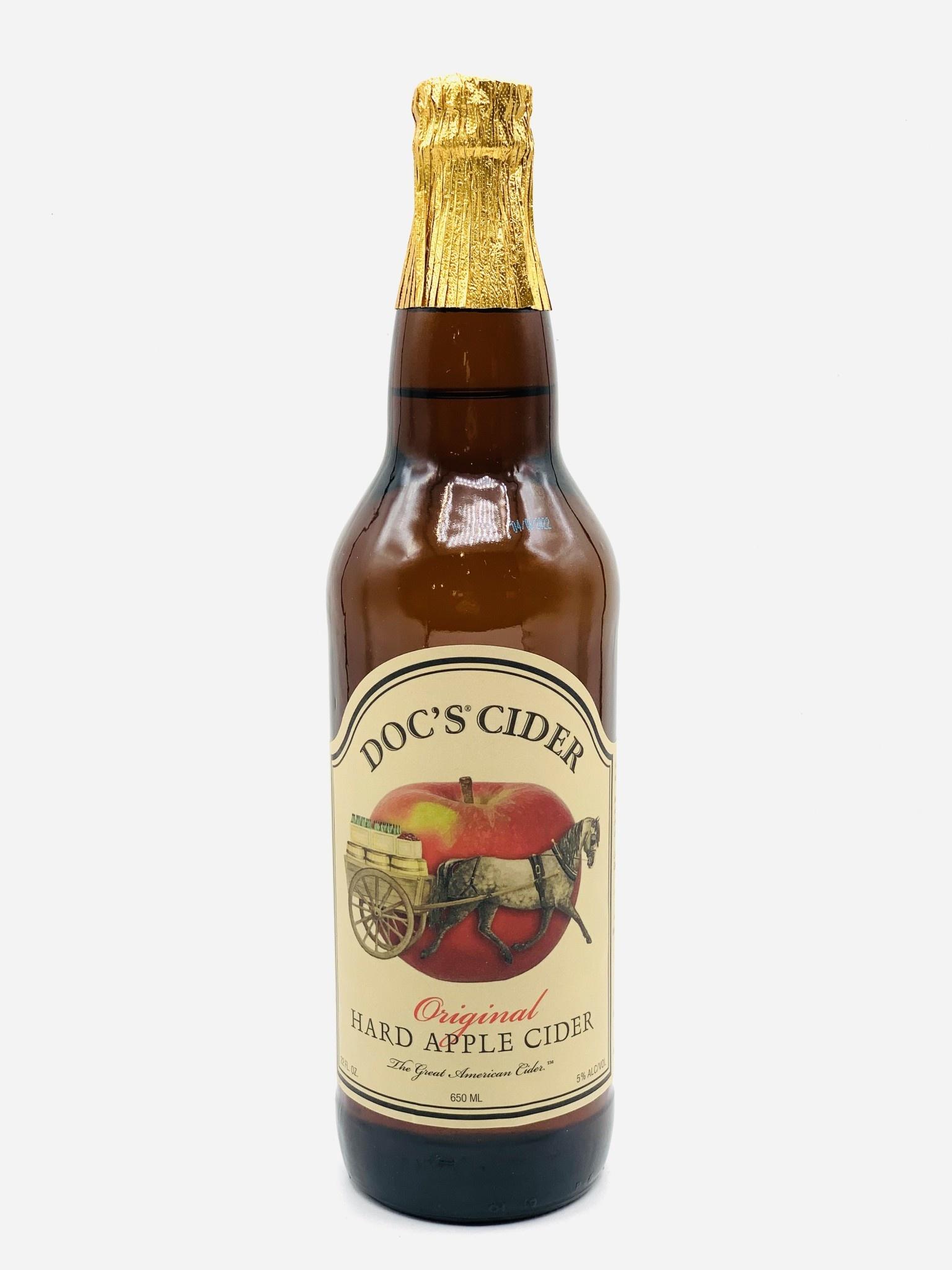 New York, Doc's Draft Original Hard Apple Cider 22oz