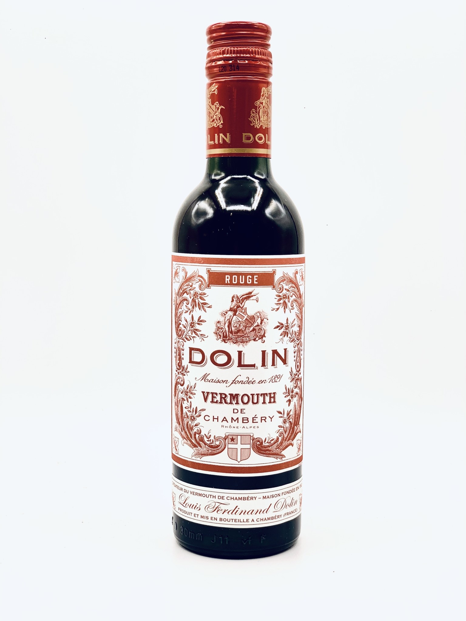 Dolin Vermouth de Chambery A.O.C. Rouge 375ml (32 Proof)
