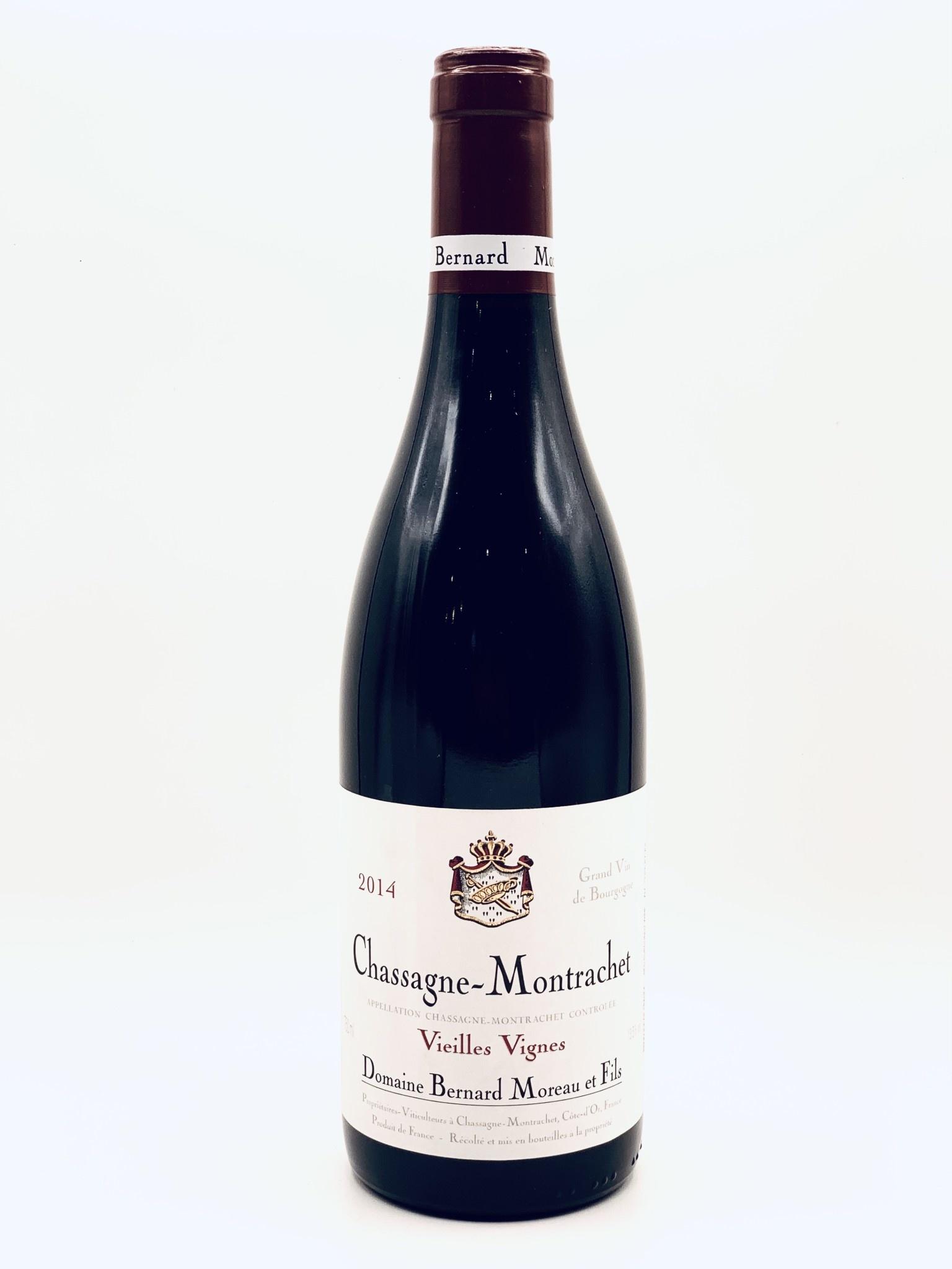 Chassagne Montrachet Rouge 2014 Domaine Bernard Moreau Vieilles Vignes