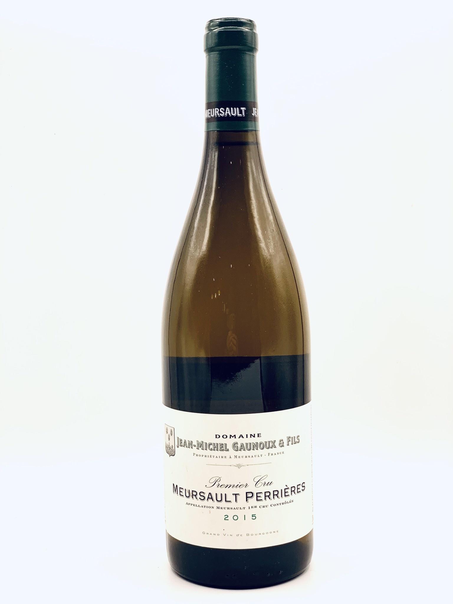 "Meursault 1er Cru ""Perrieres"" 2015 Jean-Michel Gaunoux 750ml"