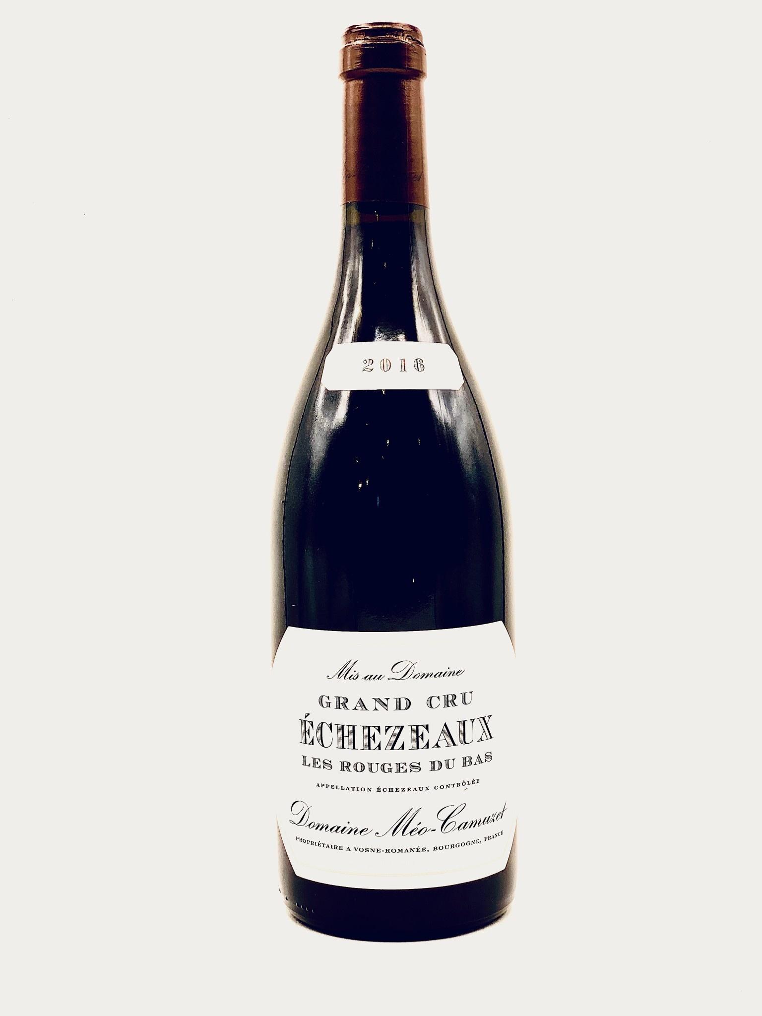 """Echezeaux """"Les Rouges du Bas"""" 2016 Domaine Meo-Camuzet Grand Cru  750ml"""