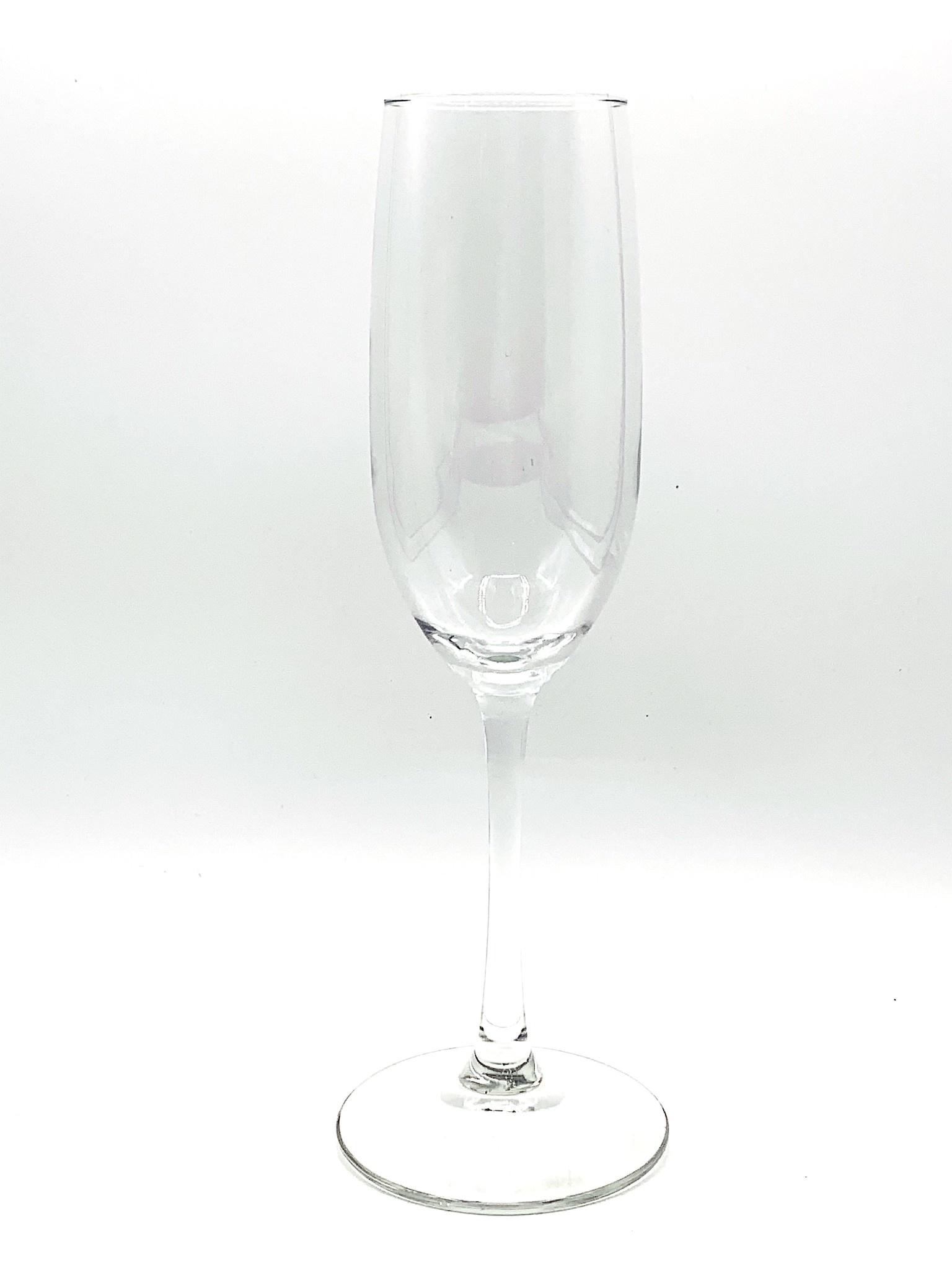 Everyday Sparkling Glass Flute 8oz.