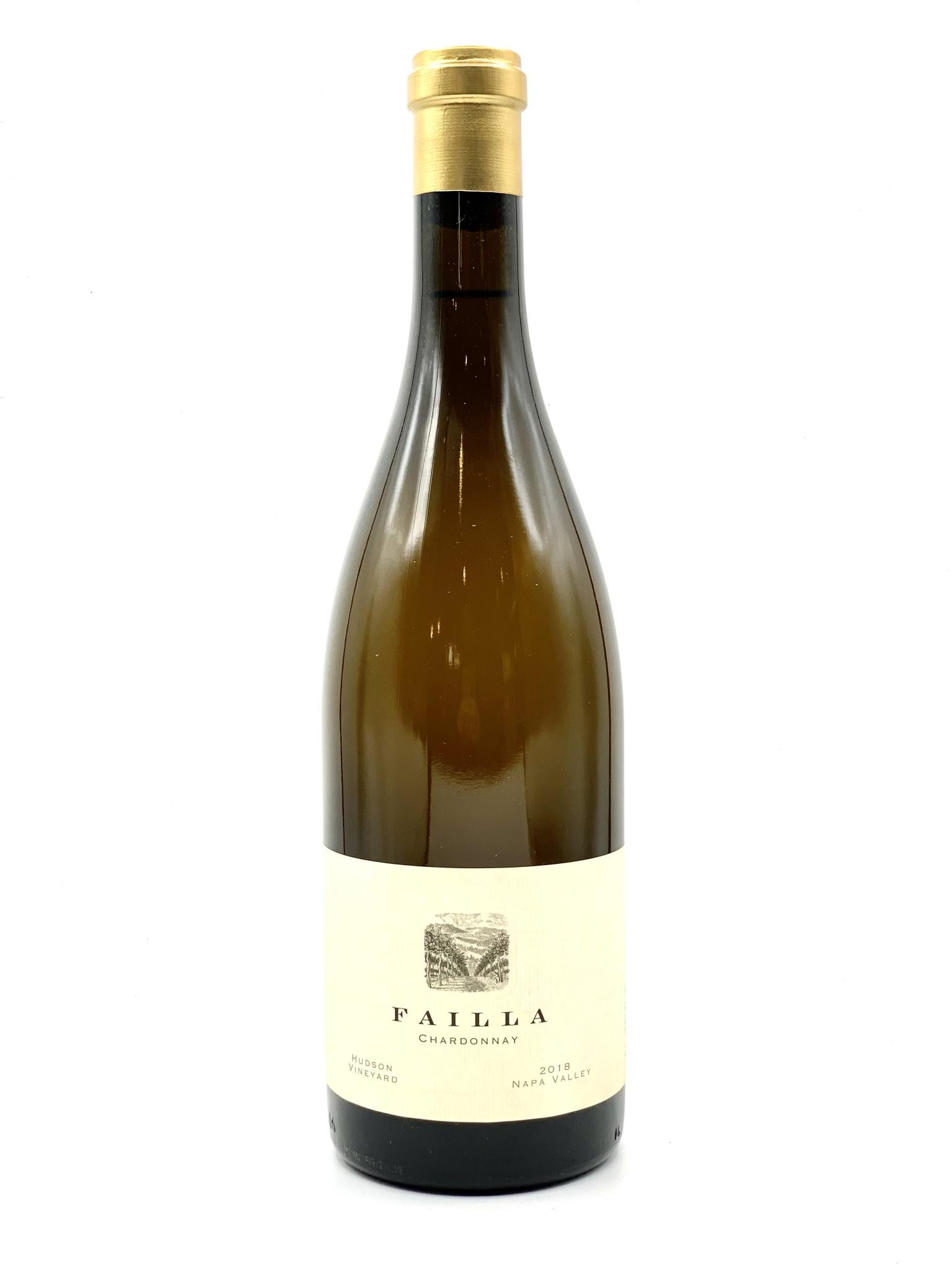 "Napa Valley Chardonnay 2018 Failla ""Hudson Vyd""  750ml"