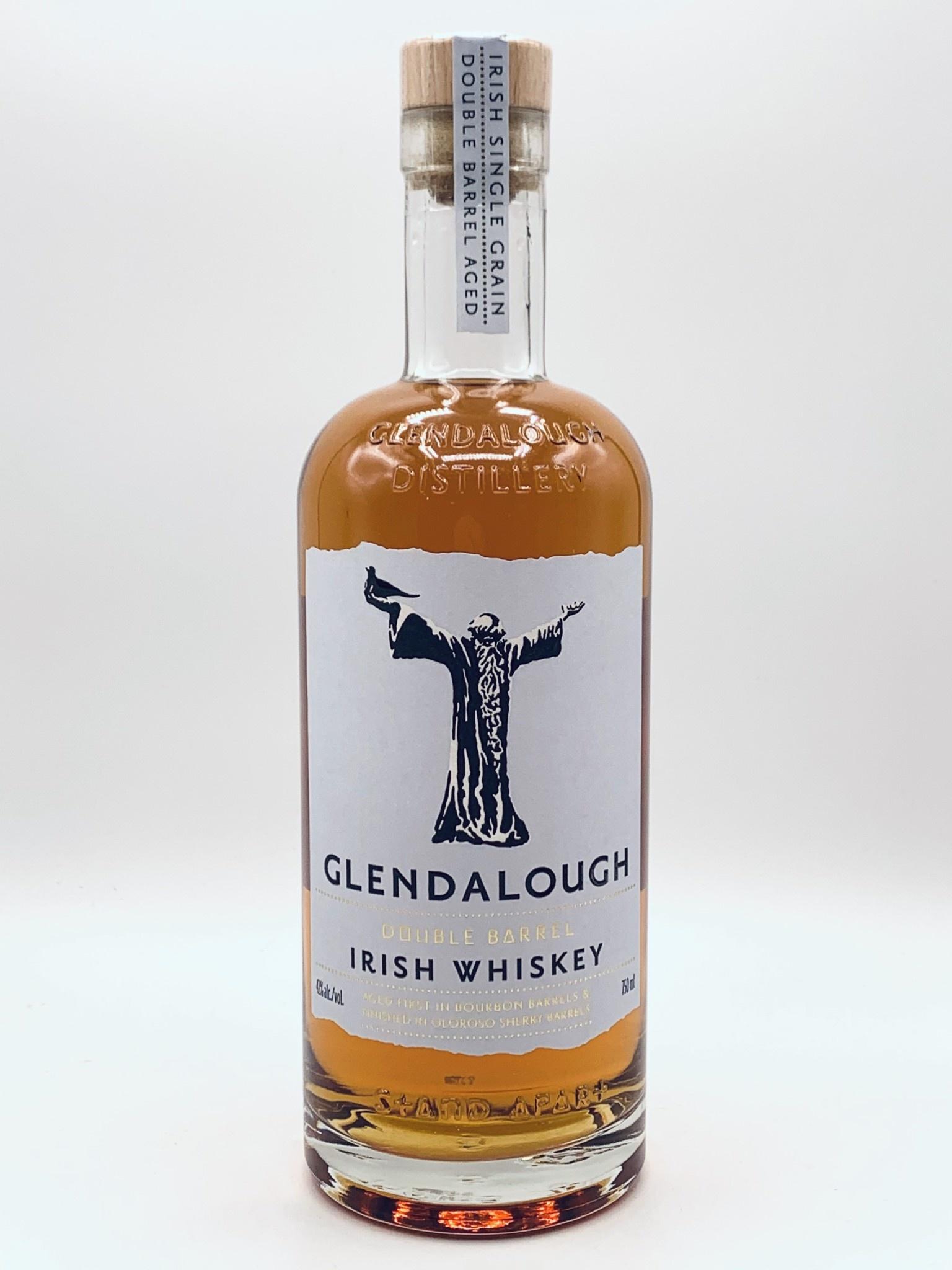 Glendalough Doube Barrel Irish Whiskey  750ml (84 proof)