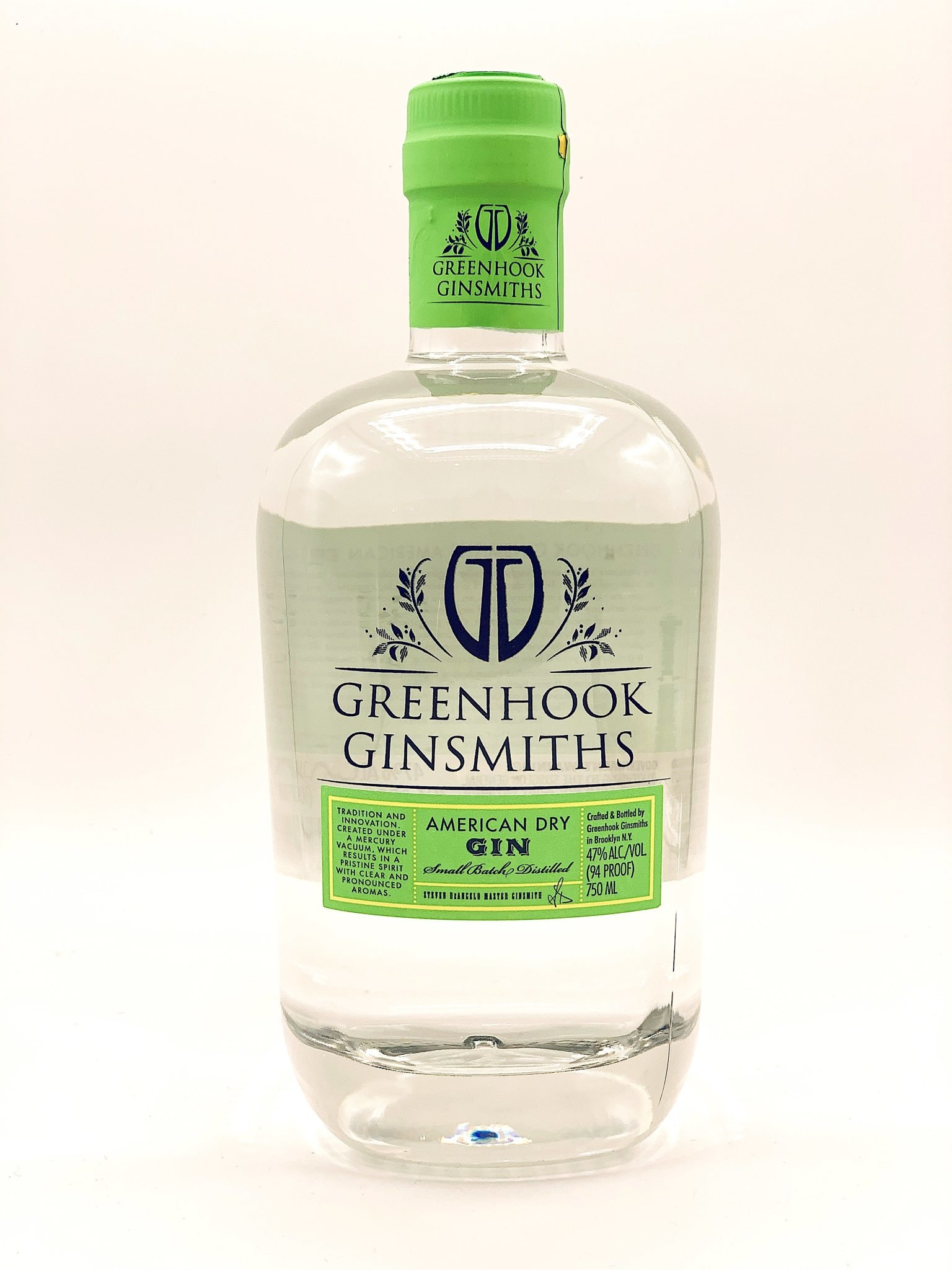 Greenhook Ginsmiths American Dry Gin 750ml (94 Proof)