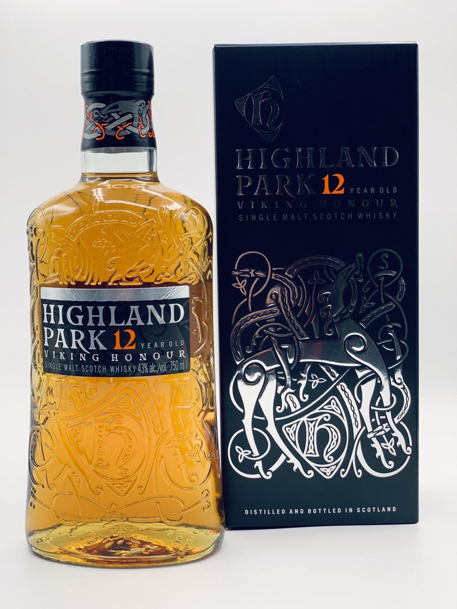 Highland Park 12yr Orkney Single Malt Scotch Whisky  750ml (86 proof)