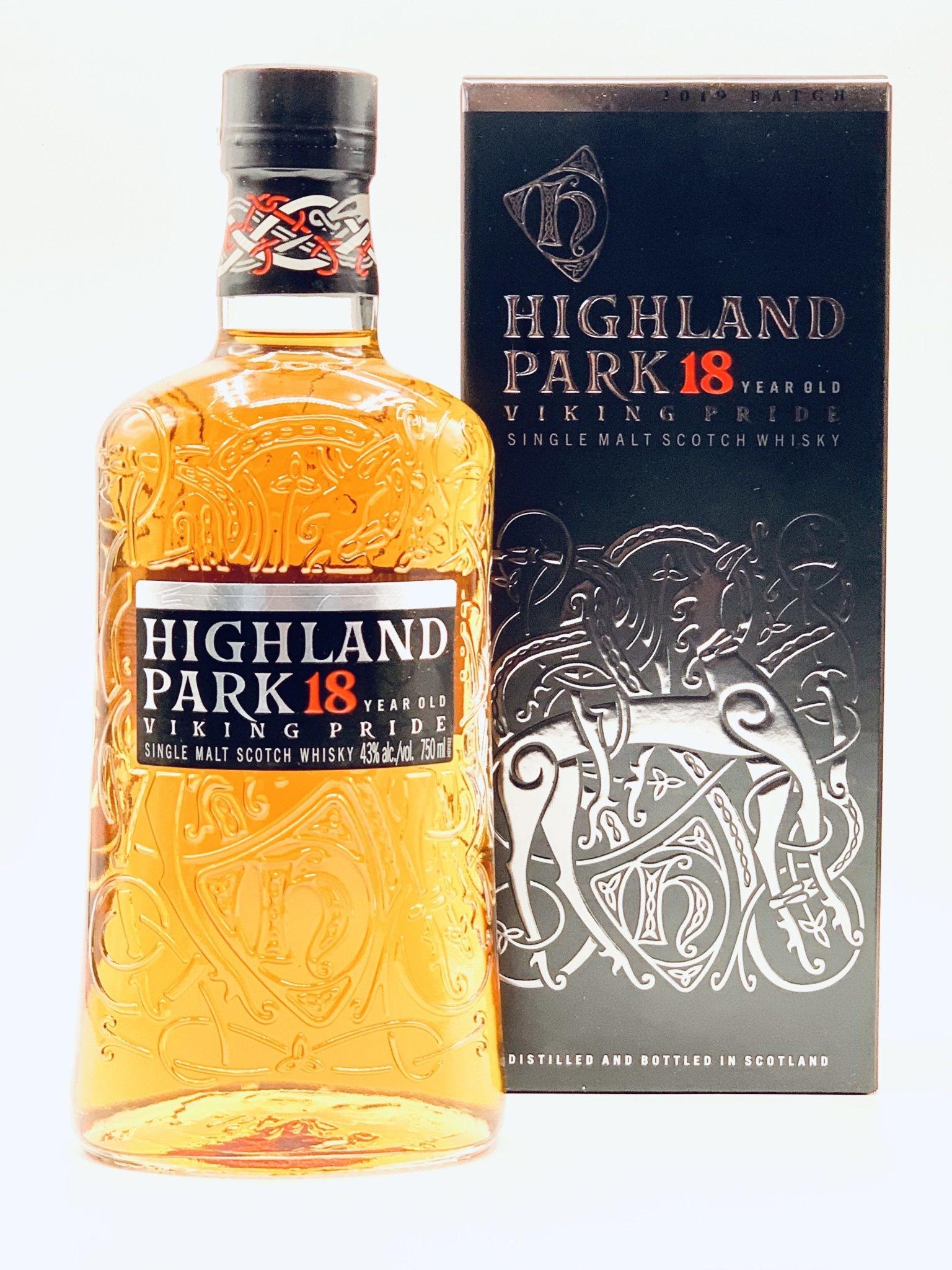 Highland Park 18yr Orkney Single Malt Scotch Whisky 750ml (86 proof)